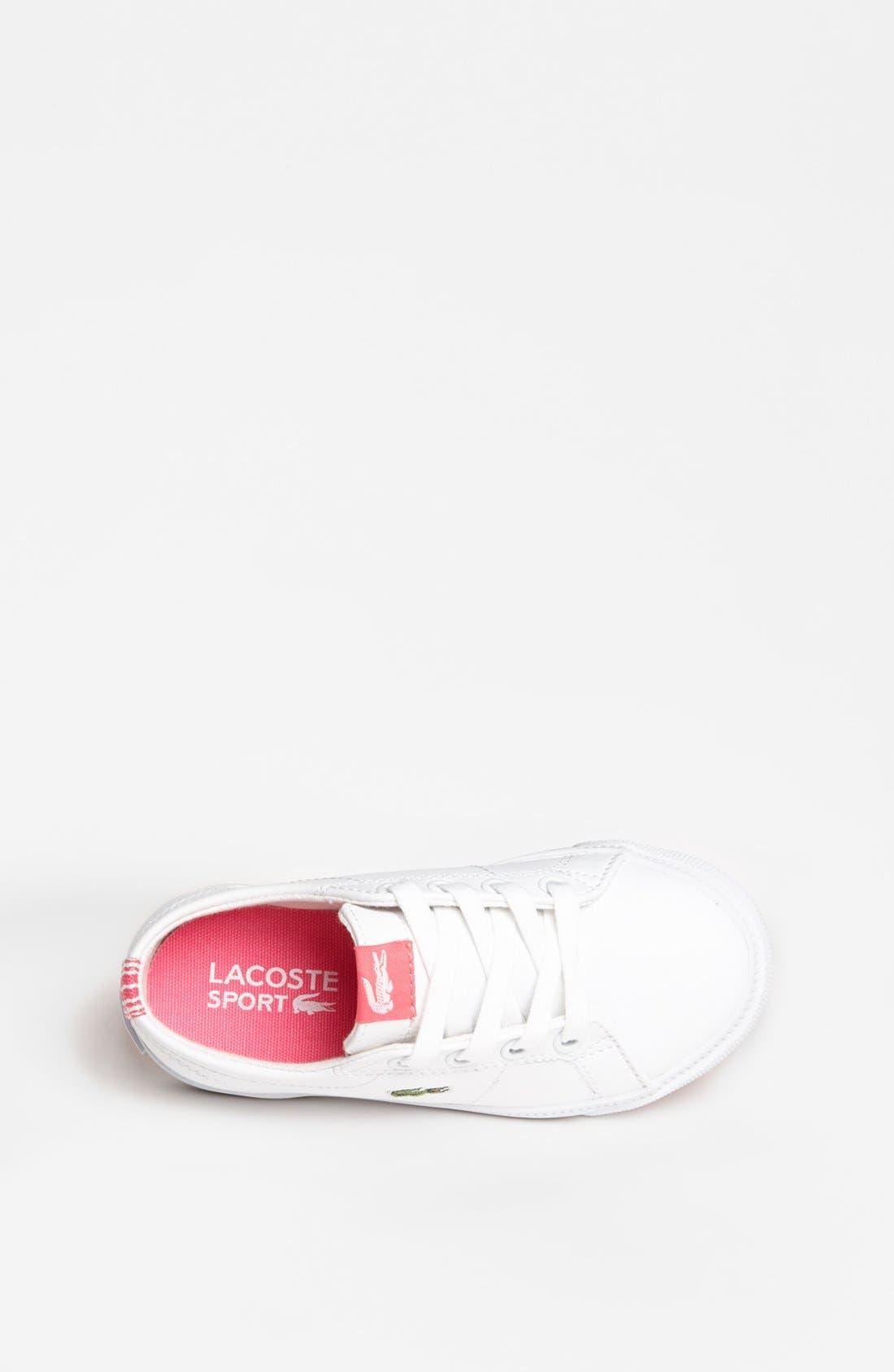 Alternate Image 3  - Lacoste 'Marcel' Sneaker (Toddler)