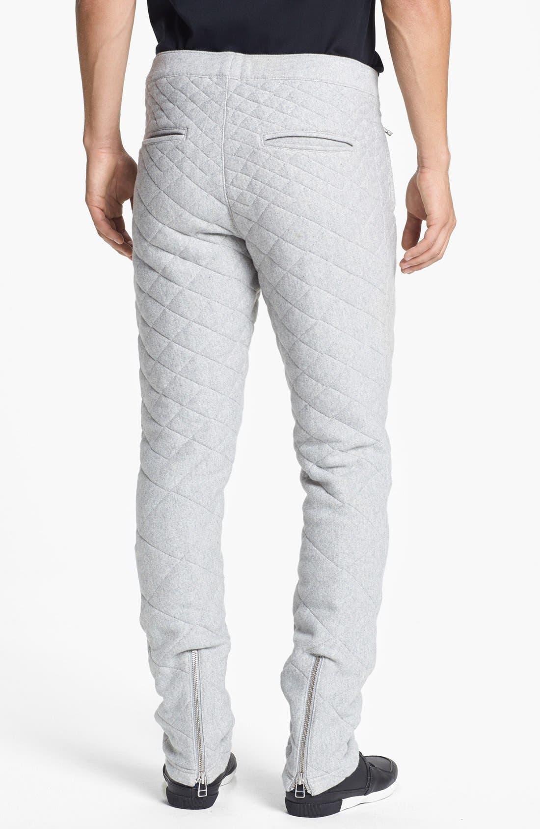 Alternate Image 2  - adidas SLVR Quilted Fitted Pants