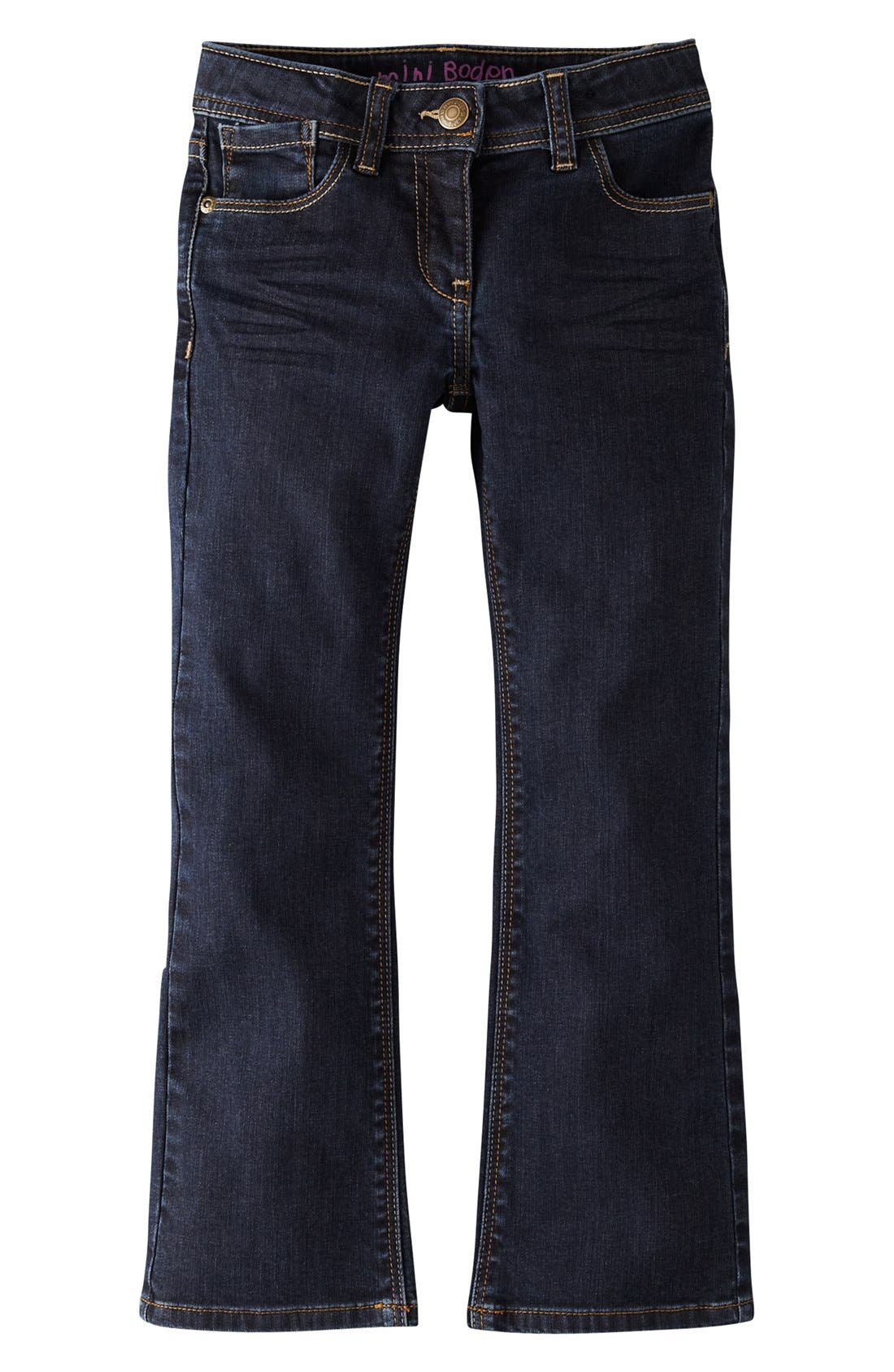 Alternate Image 2  - Mini Boden Bootcut Jeans (Little Girls & Big Girls)