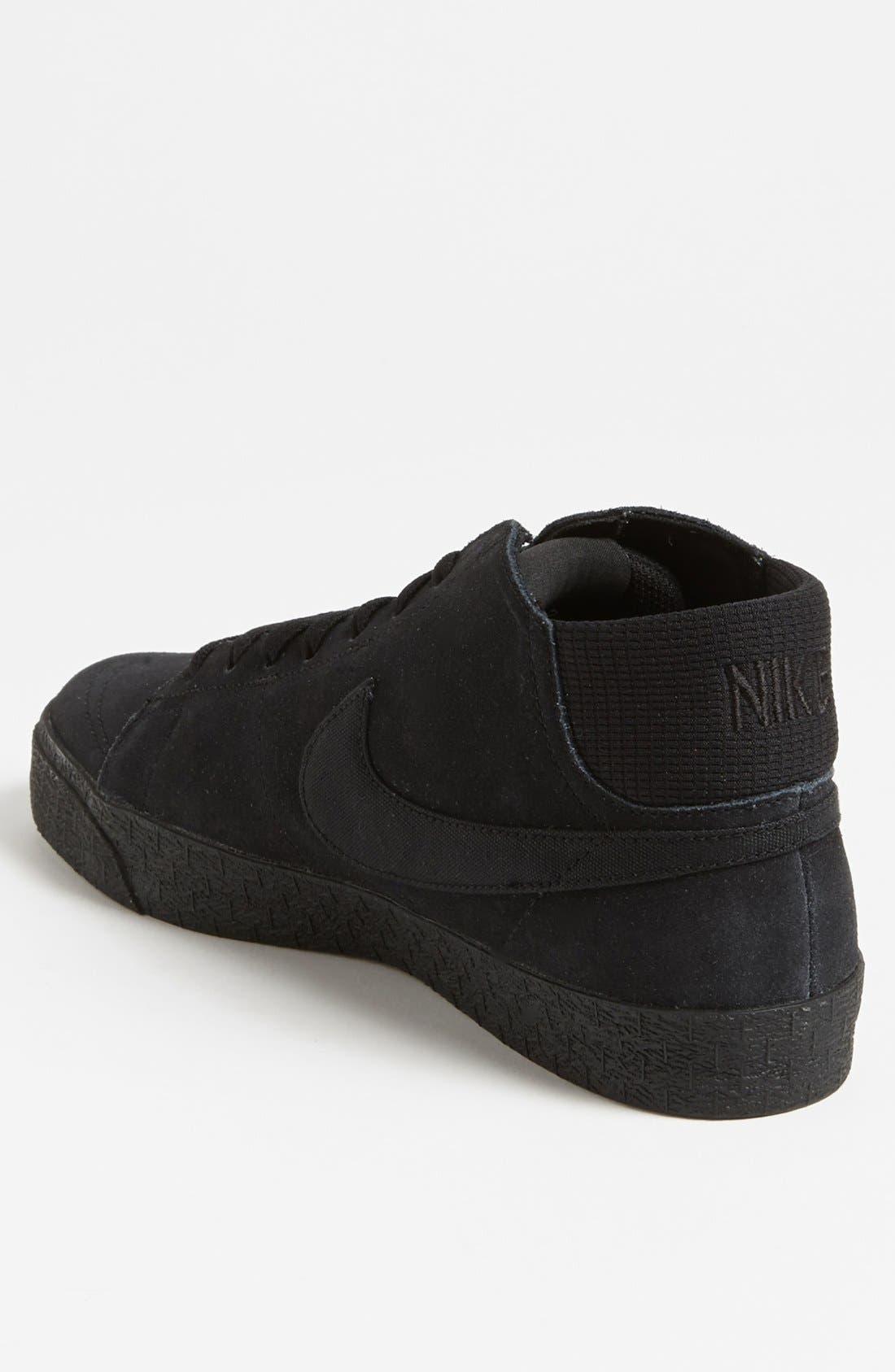 Alternate Image 2  - Nike 'Blazer Mid LR' Skate Shoe (Men)