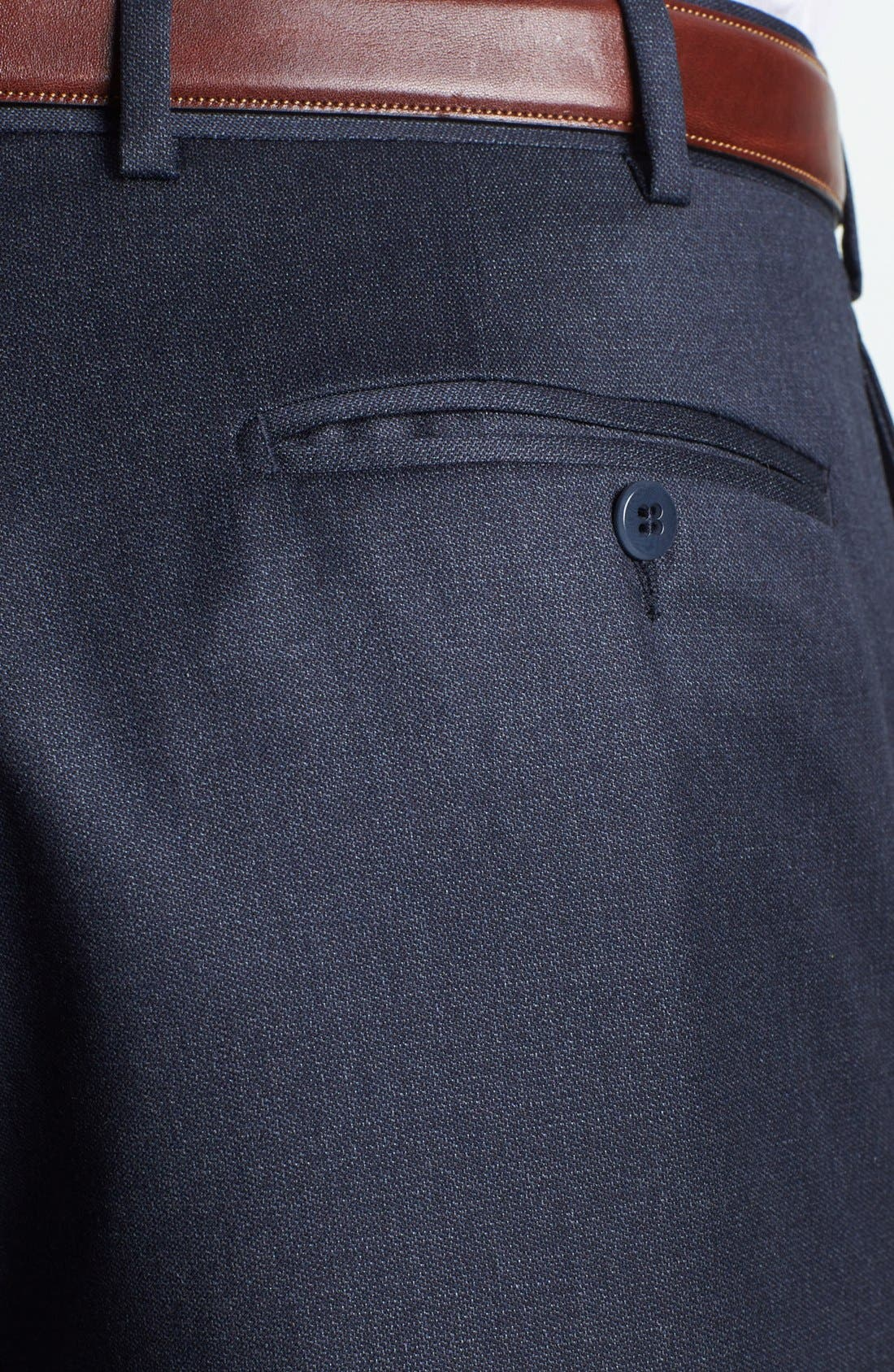 Alternate Image 3  - Zanella 'Devon' Flat Front Trousers