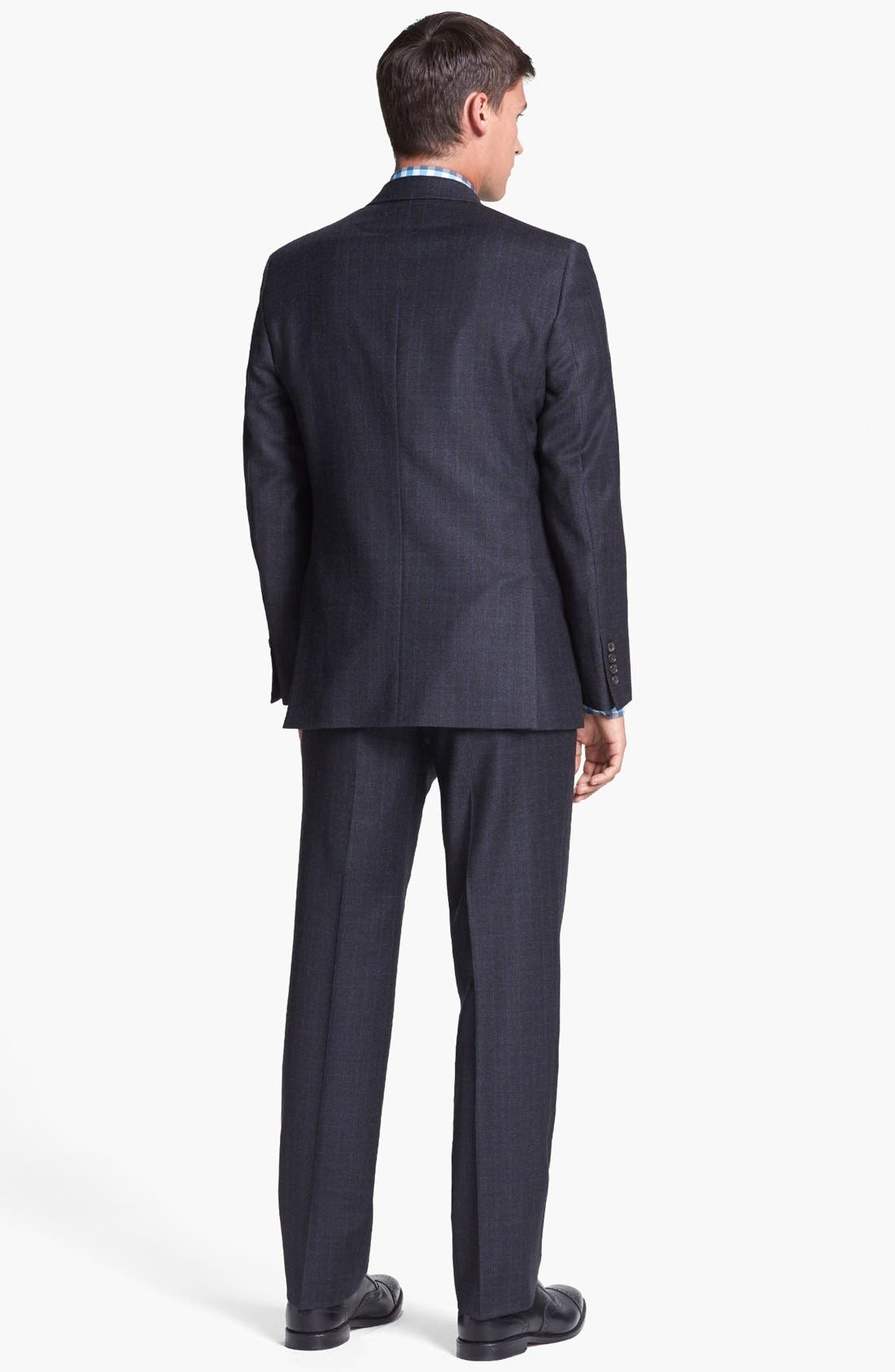 Alternate Image 2  - Ted Baker London Suit & Calibrate Dress Shirt