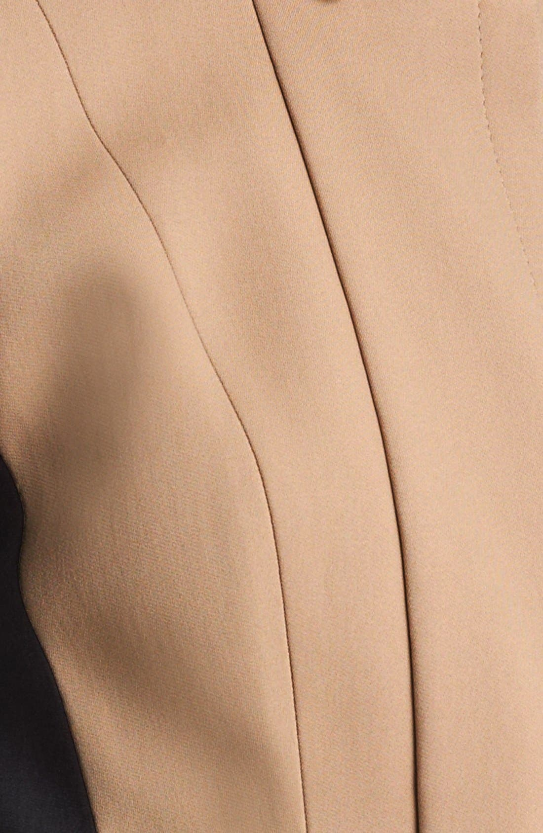Alternate Image 3  - Burberry Prorsum Bicolor Peplum Jacket