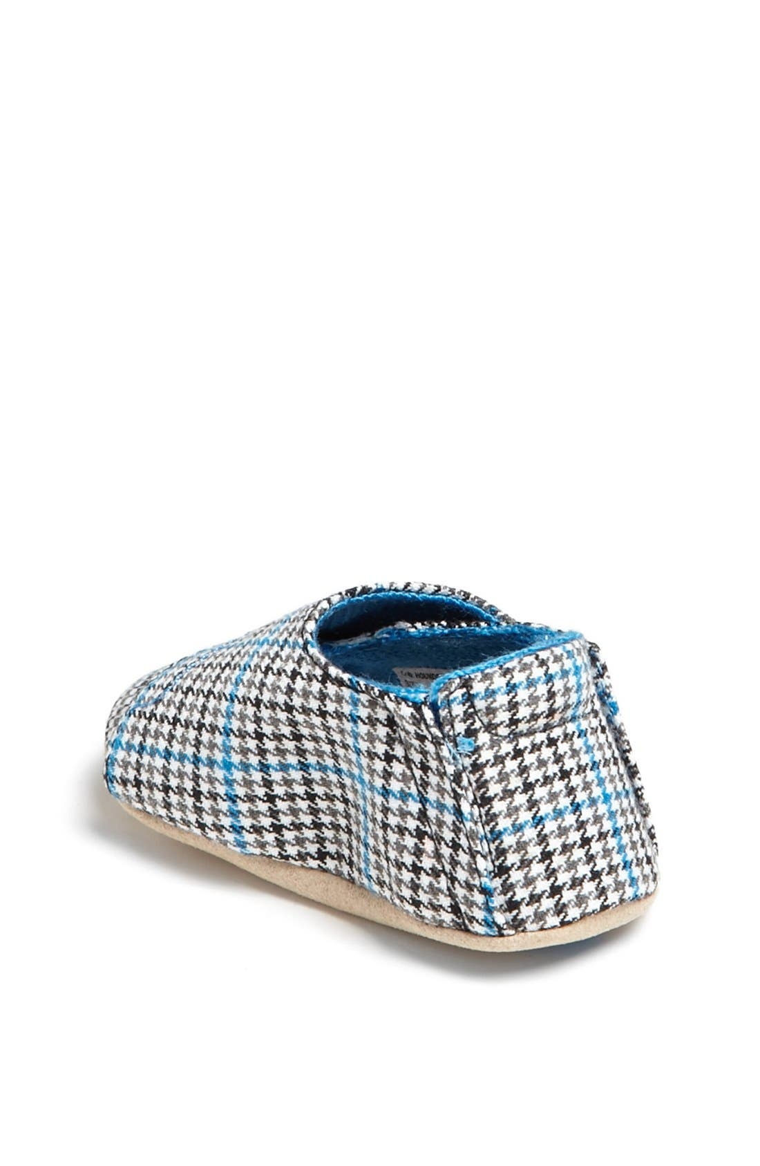 Alternate Image 2  - Stride Rite 'Hip Houndstooth' Crib Shoe (Baby Boys)