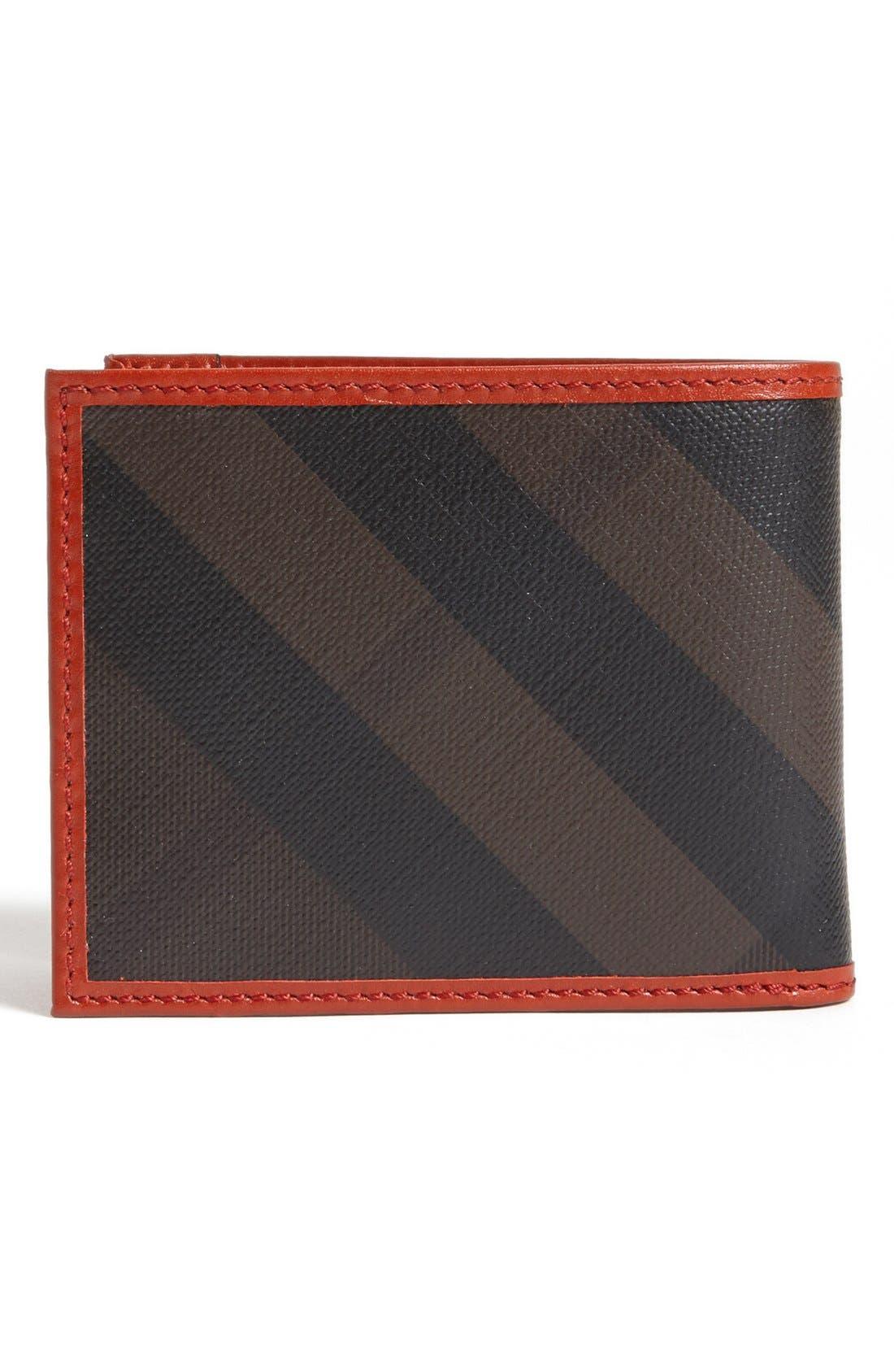 Alternate Image 3  - Burberry Check Print Bifold Wallet