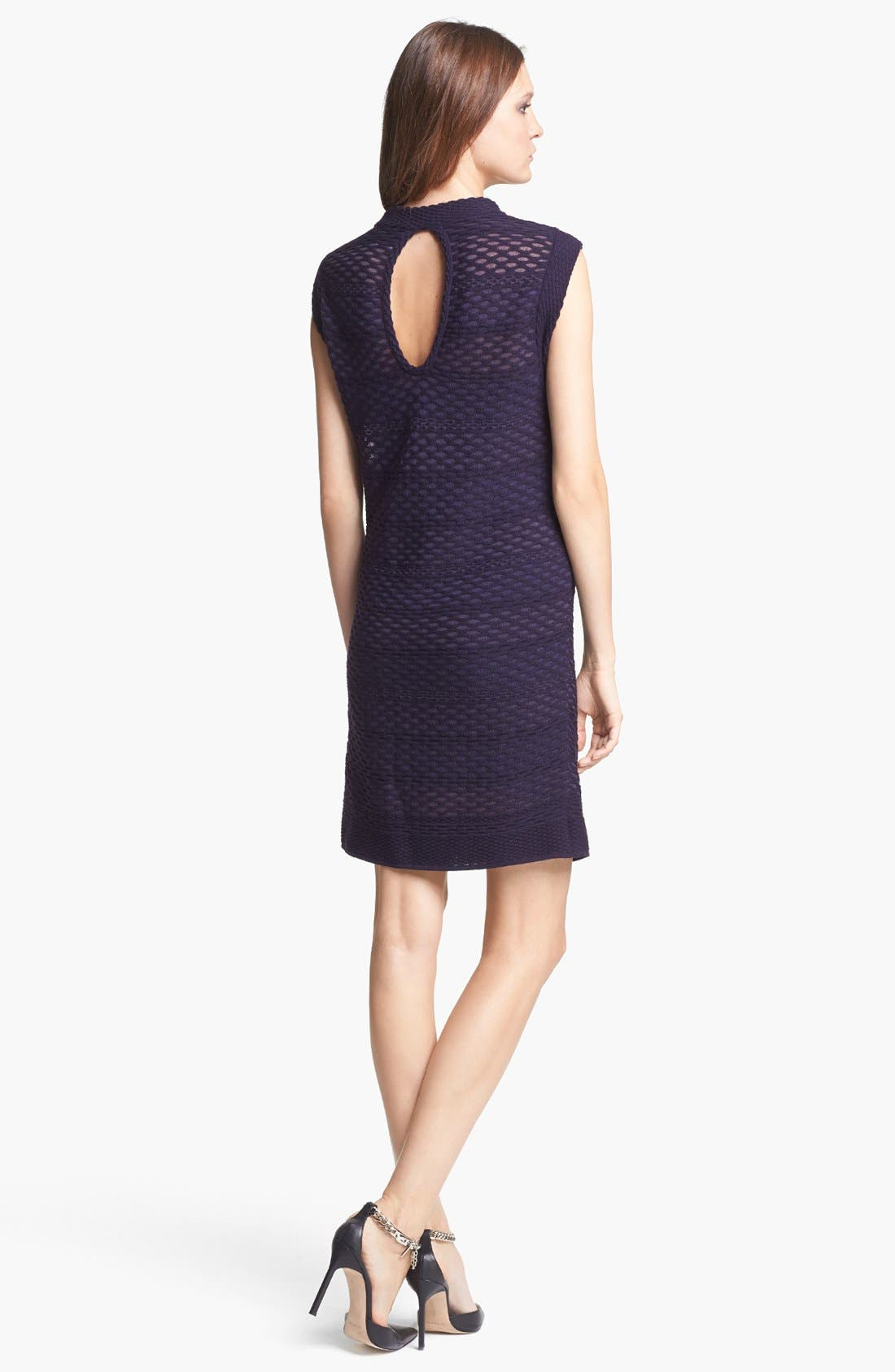 Alternate Image 2  - M Missoni Honeycomb Pattern Knit Dress