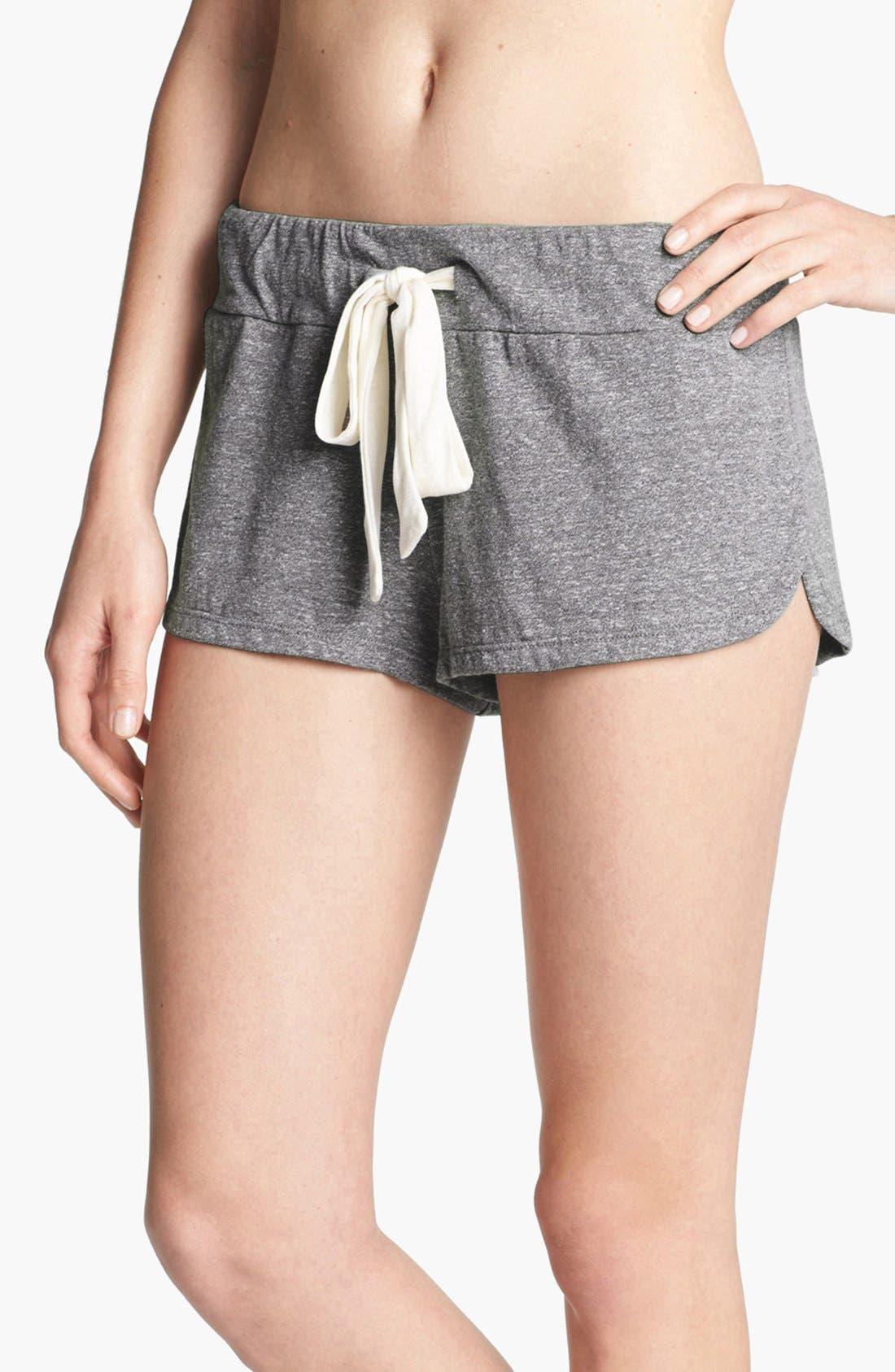 Alternate Image 1 Selected - Eberjey Heather Knit Shorts