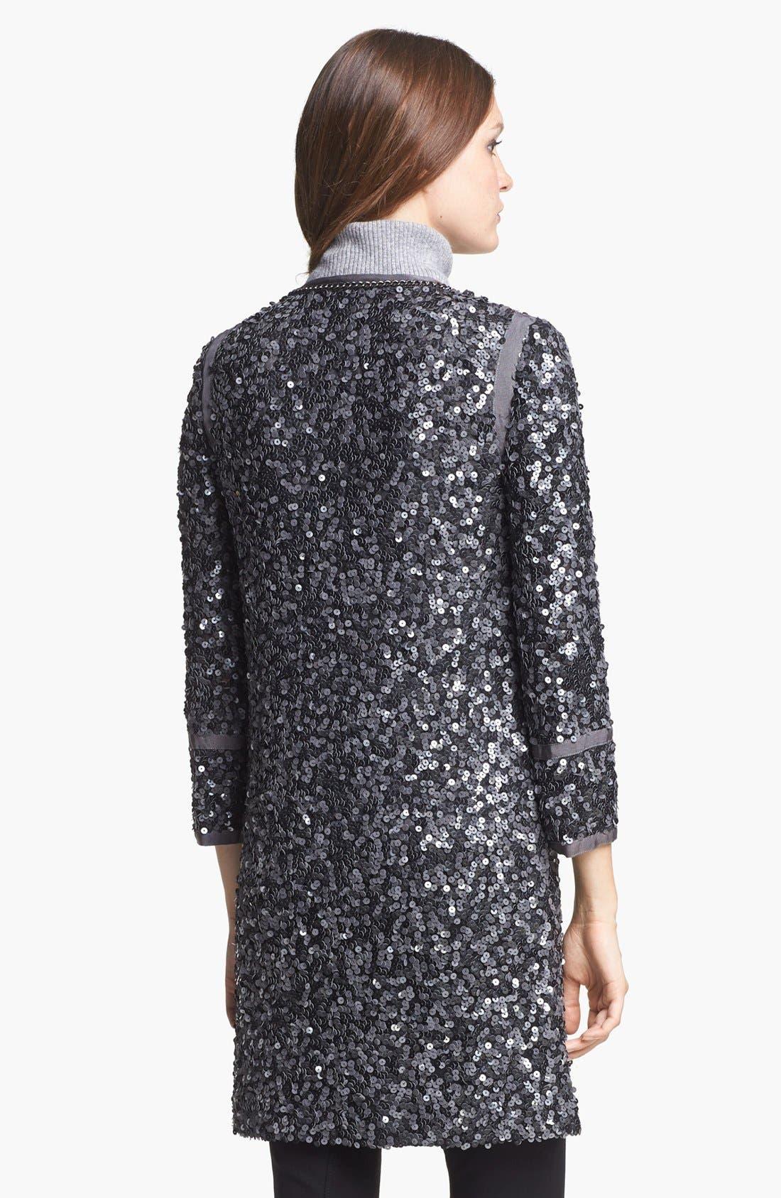 Alternate Image 2  - Rachel Zoe 'Paulie' Long Sequin Jacket