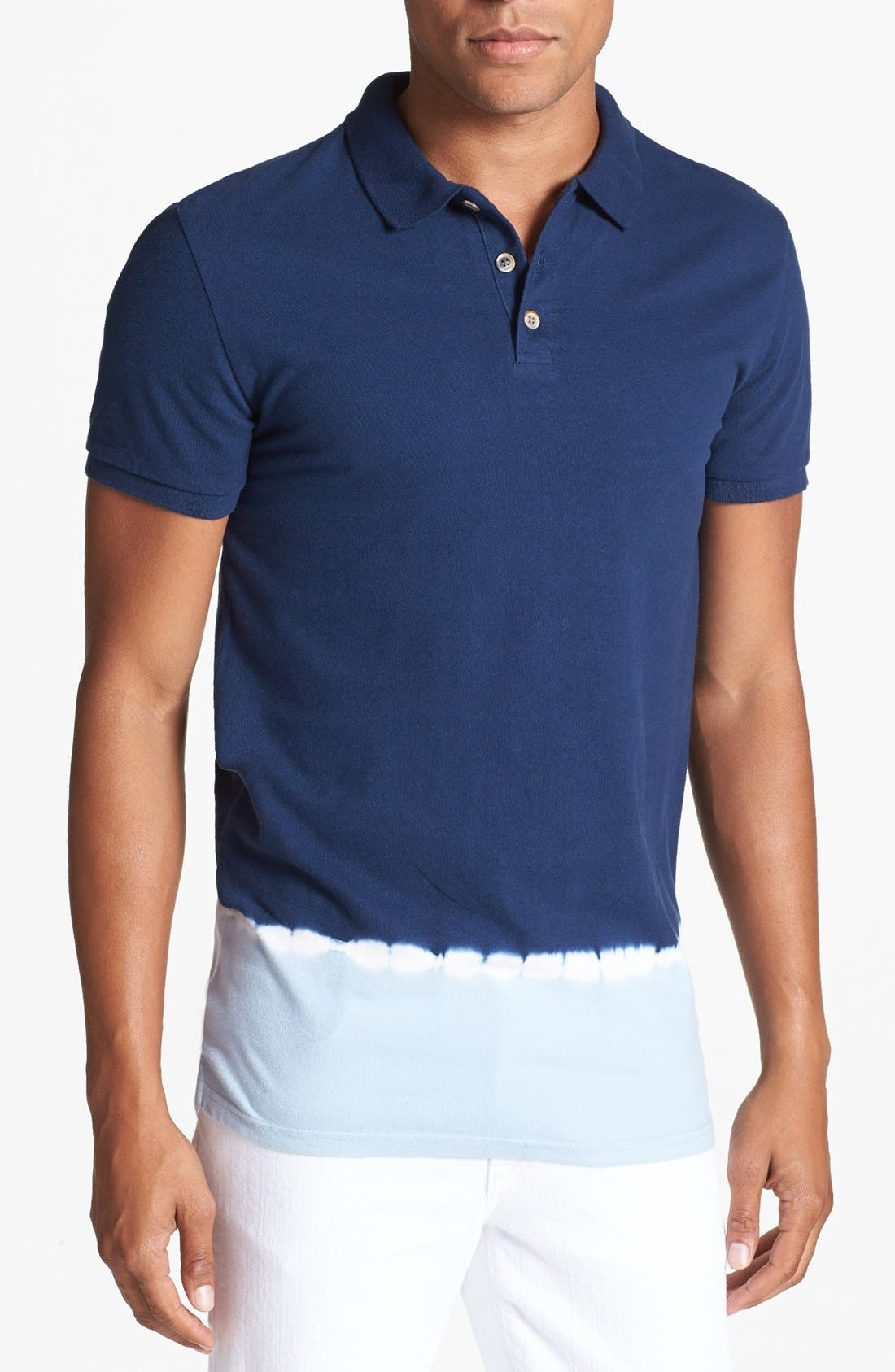 Alternate Image 1 Selected - Antony Morato Dip Dye Polo