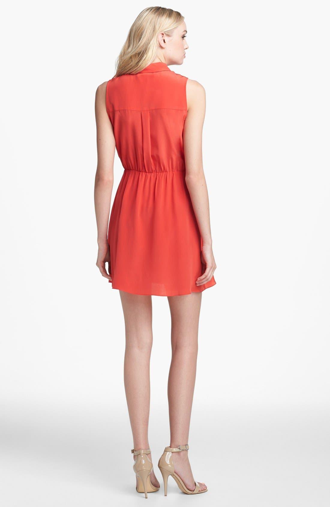 Alternate Image 2  - Amanda Uprichard 'Shay' Silk Dress