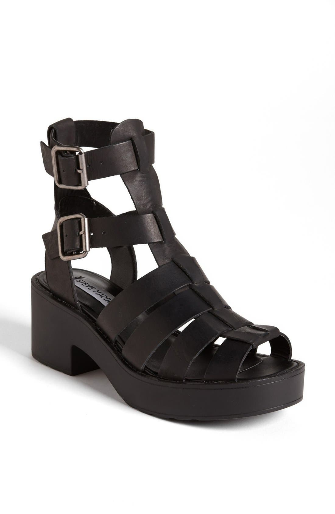 Alternate Image 1 Selected - Steve Madden 'Schoolz' Sandal