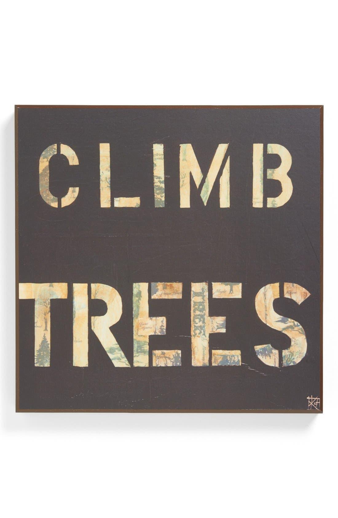 Third and Wall Art 'Climb Trees' Wall Art