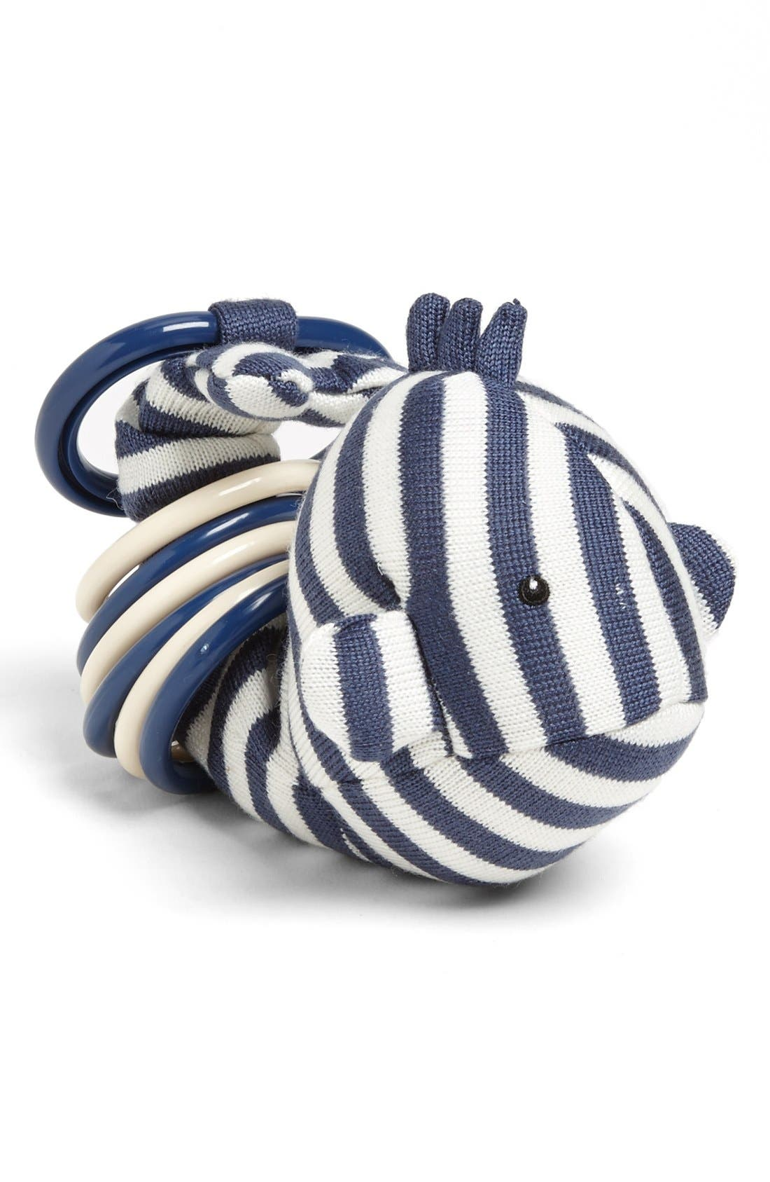 'Clicketty Walter Whale' Ring Toy,                         Main,                         color, Navy White