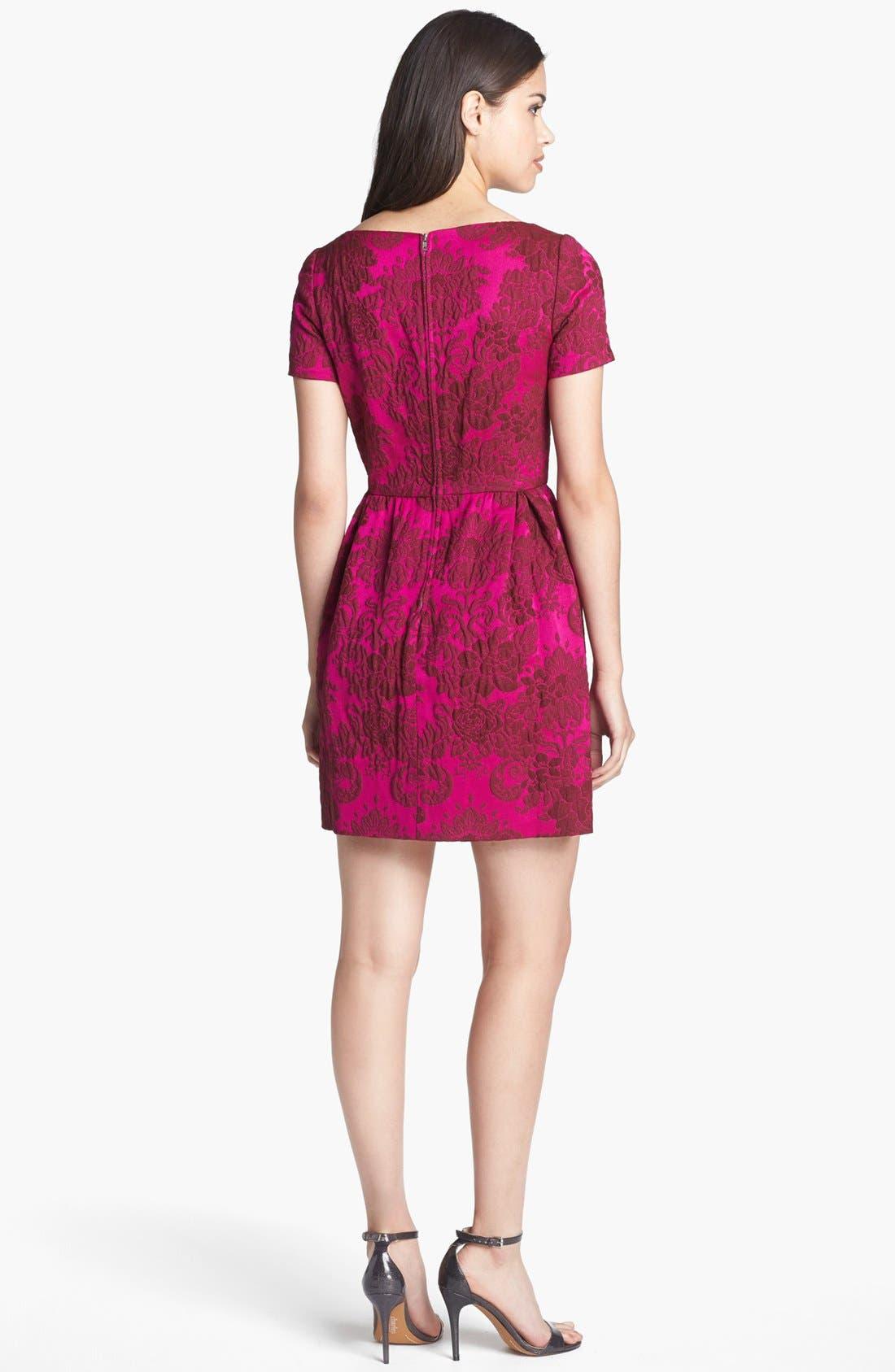 Alternate Image 2  - Jill Jill Stuart Brocade Fit & Flare Dress