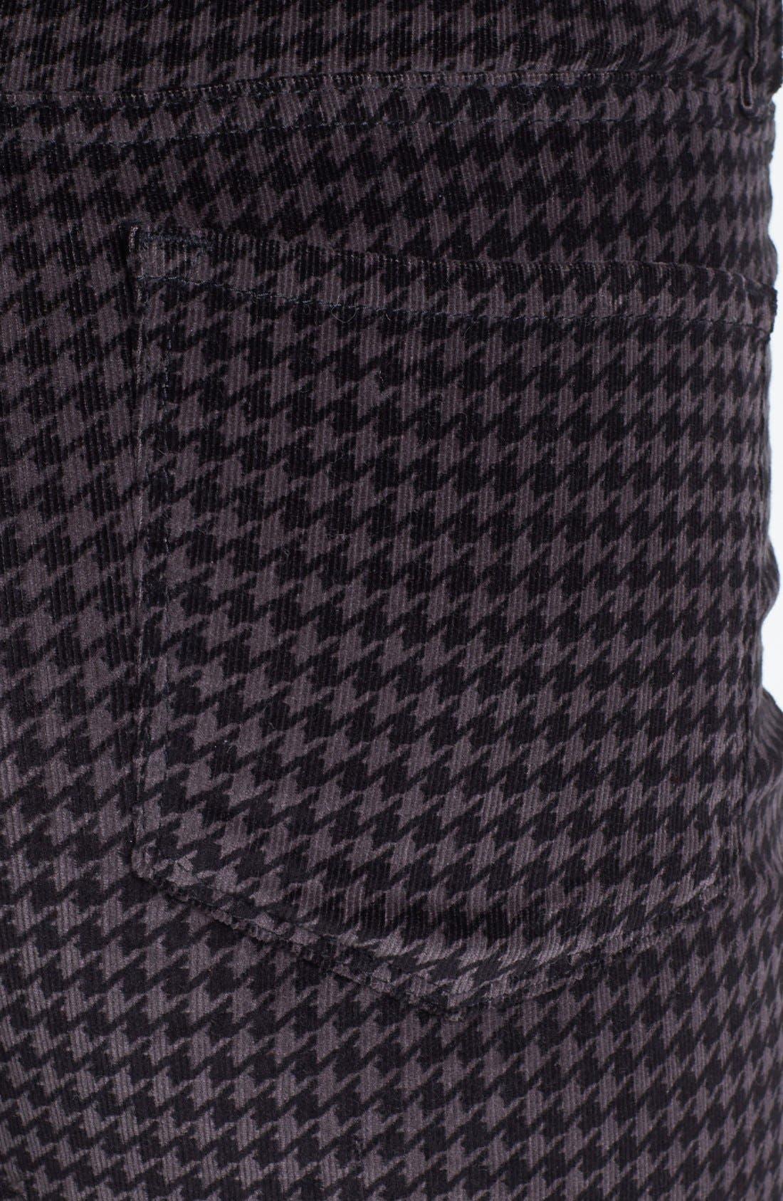 Alternate Image 3  - NYDJ Houndstooth Stretch Corduroy Pants