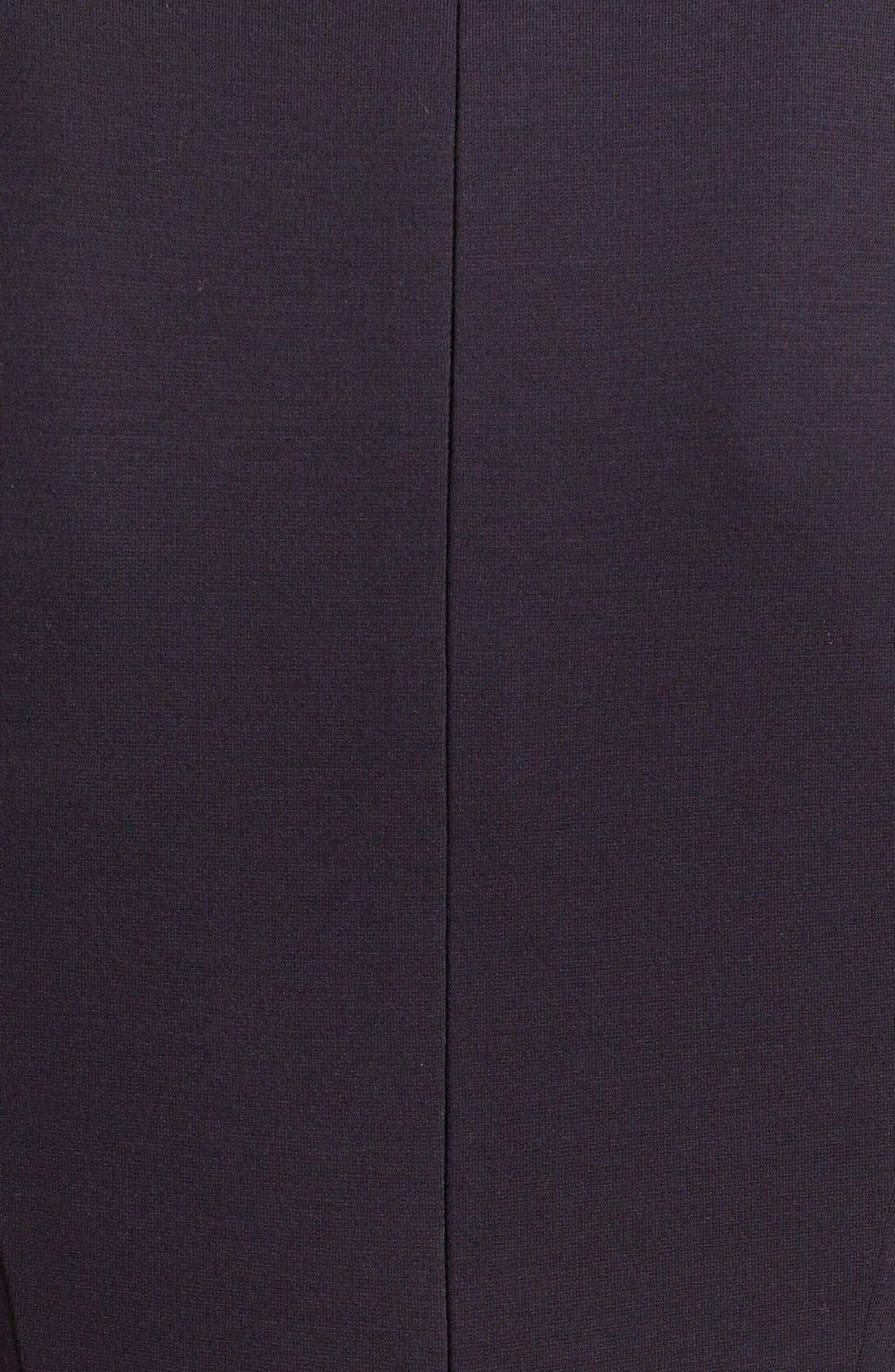 Alternate Image 3  - Ted Baker London Stretch Knit Midi Dress