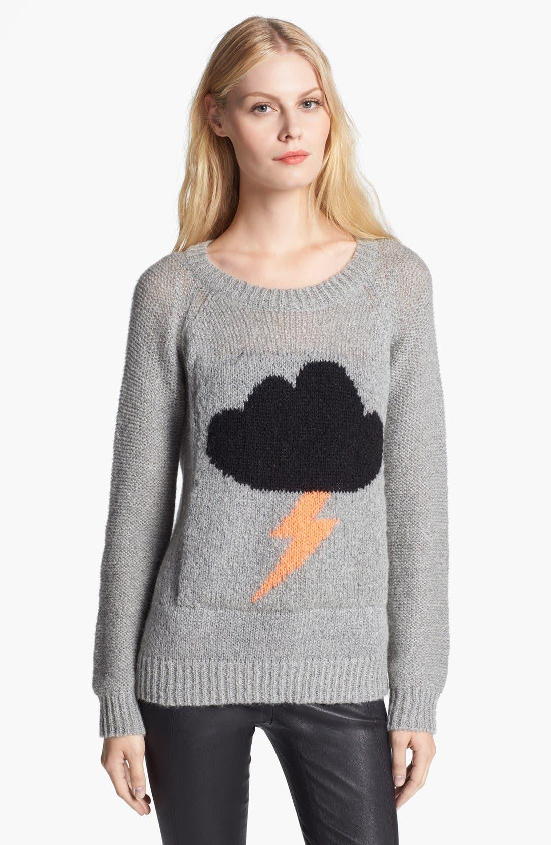 Main Image - Elizabeth and James 'Raincloud' Intarsia Knit Sweater