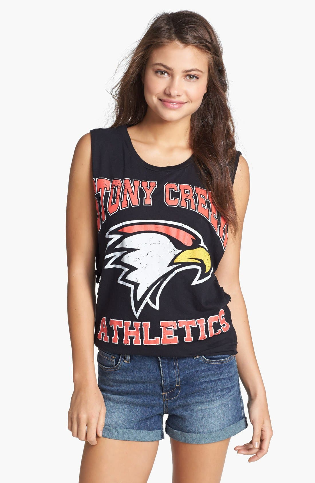 Alternate Image 1 Selected - Project Social T 'Stony Creek Athletics' Muscle Tank (Juniors)