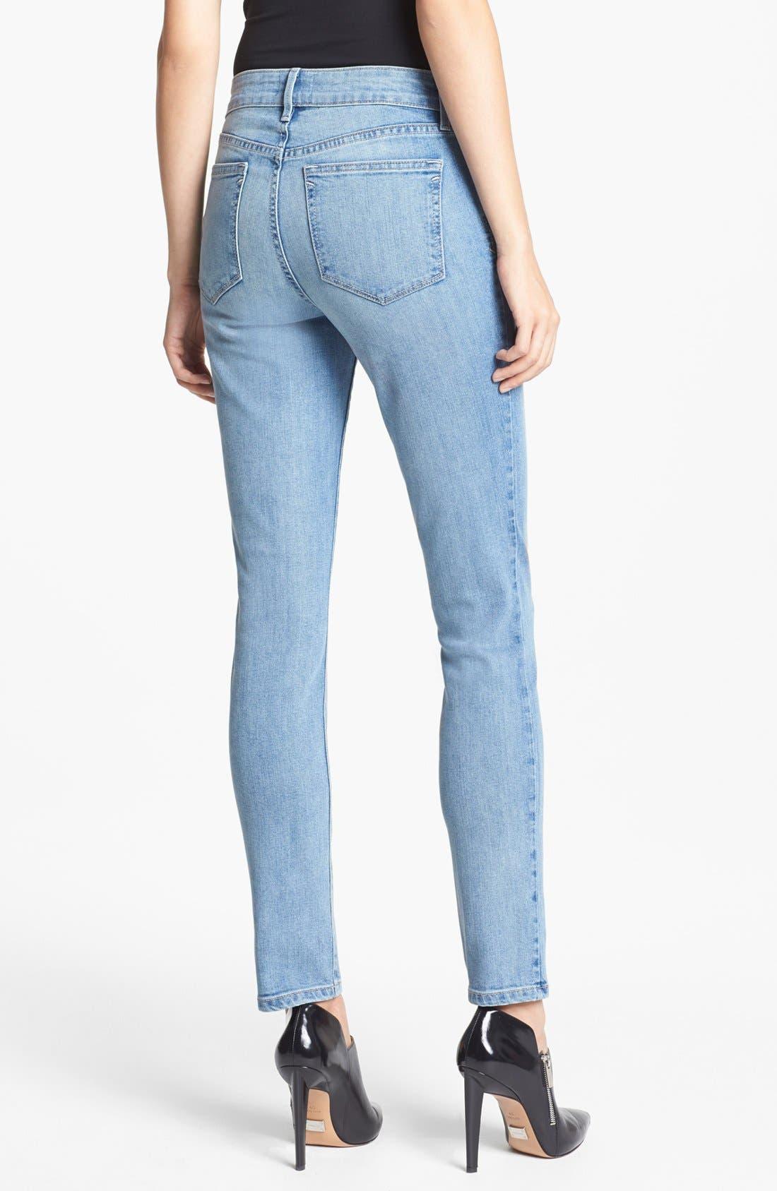 Alternate Image 3  - NYDJ 'Alina' Stretch Skinny Jeans (Sacramento) (Petite)