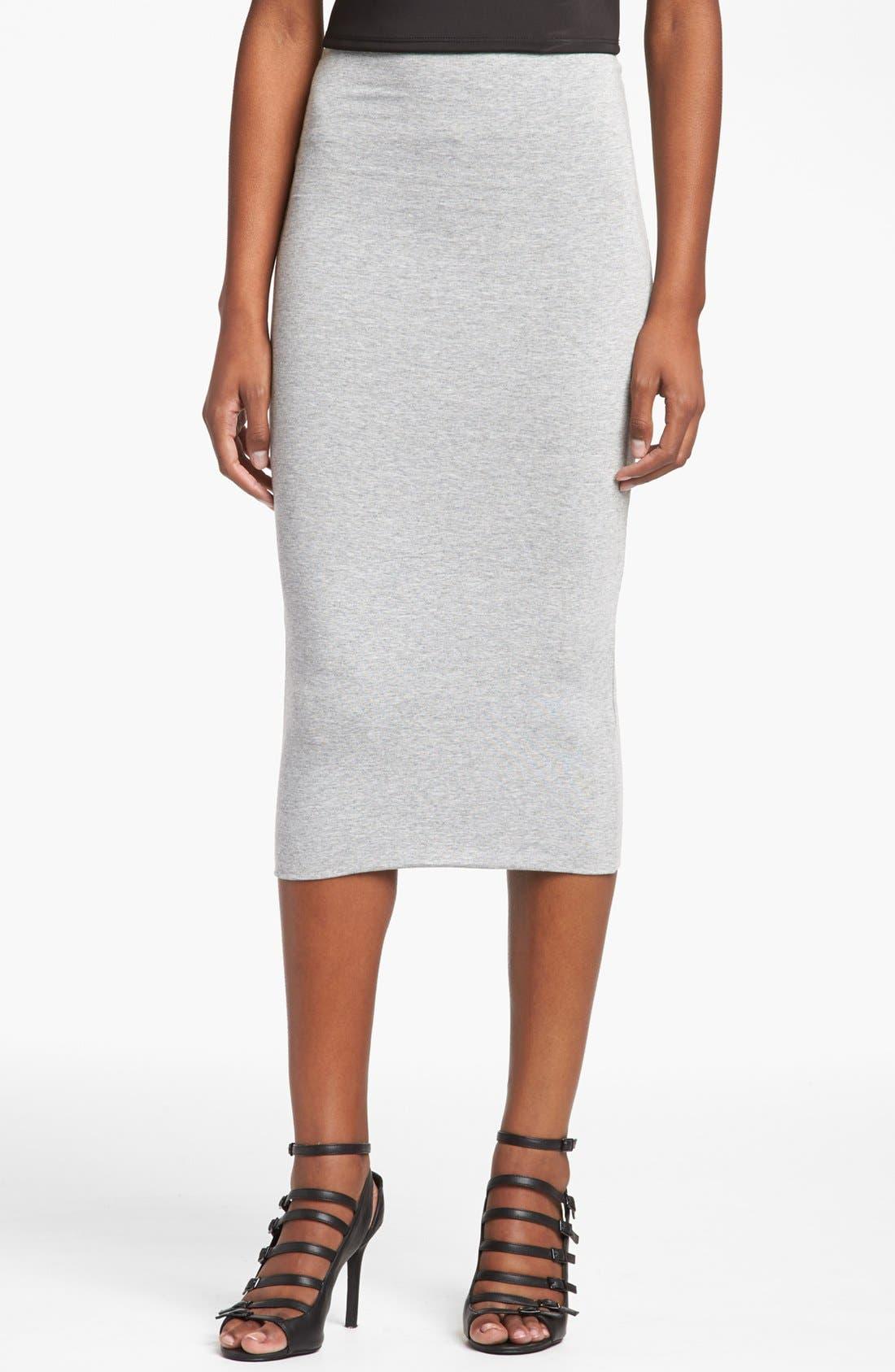 Alternate Image 1 Selected - Topshop Midi Tube Skirt