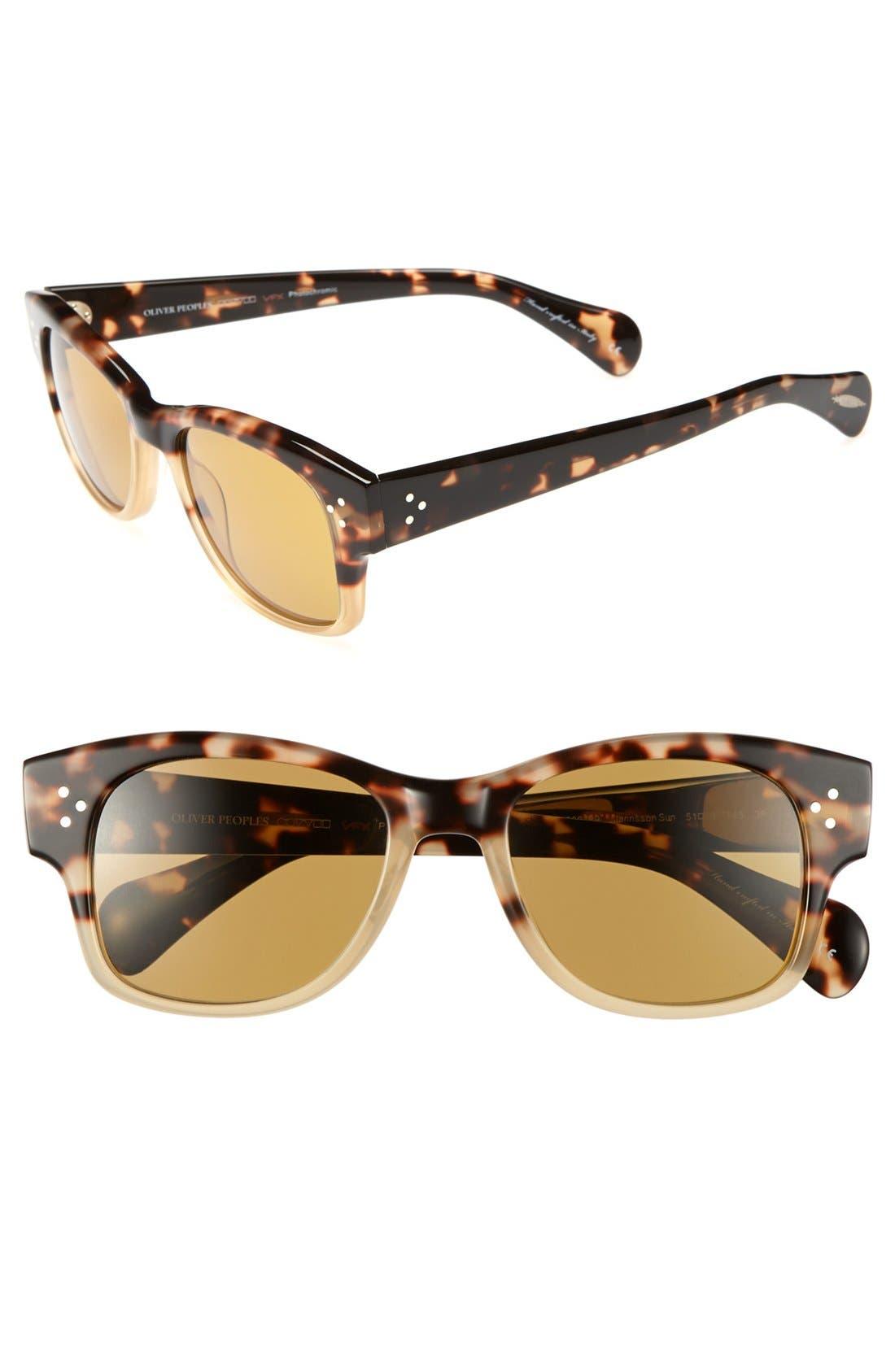 Alternate Image 1 Selected - Oliver Peoples 'Jannsson' 51mm Sunglasses