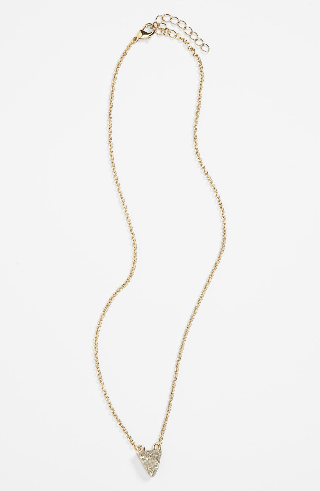 Alternate Image 1 Selected - Stephan & Co. Stone Pendant Necklace (Juniors)