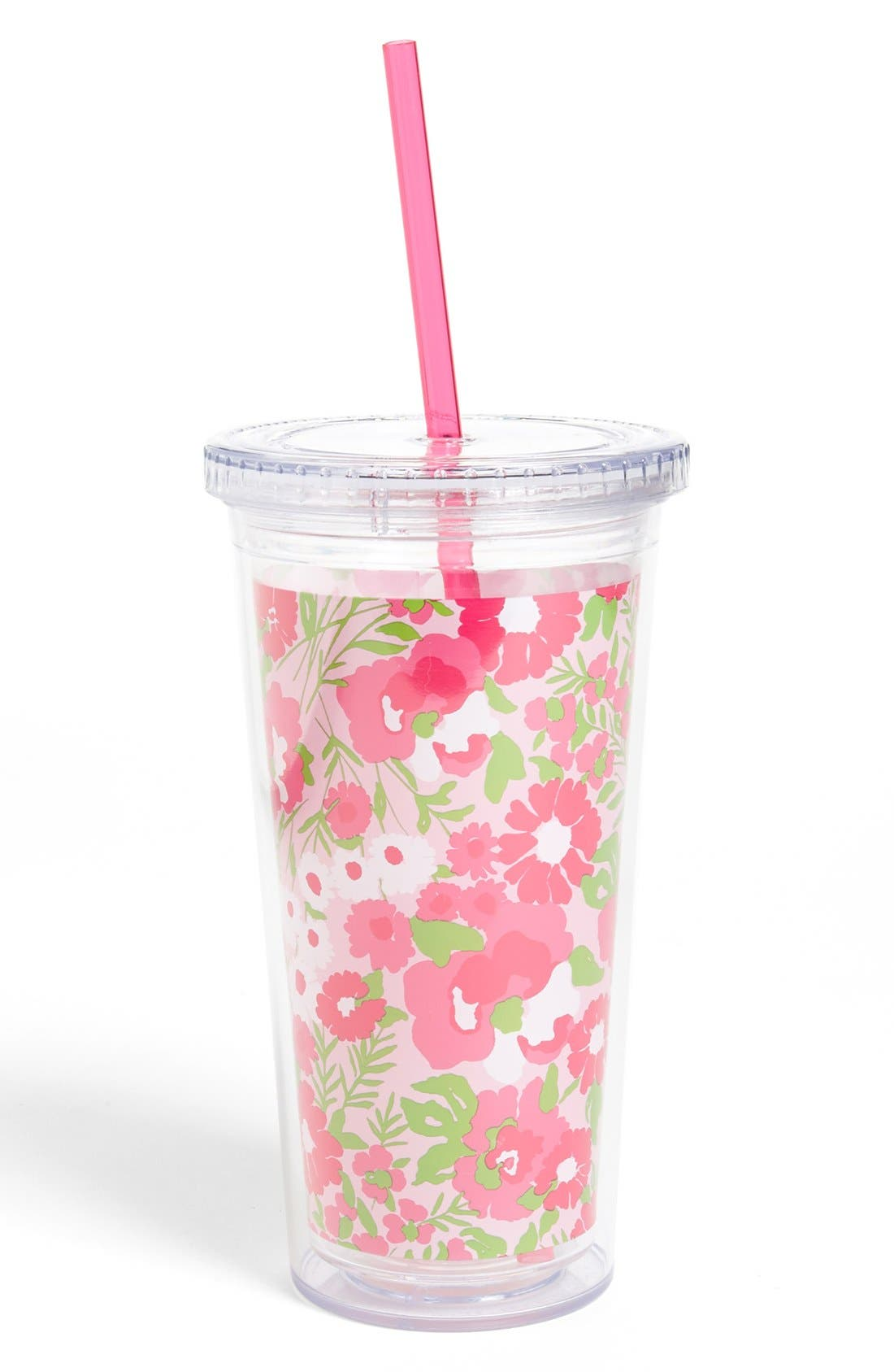 Alternate Image 1 Selected - Lilly Pulitzer® 'Garden by the Sea' Tumbler