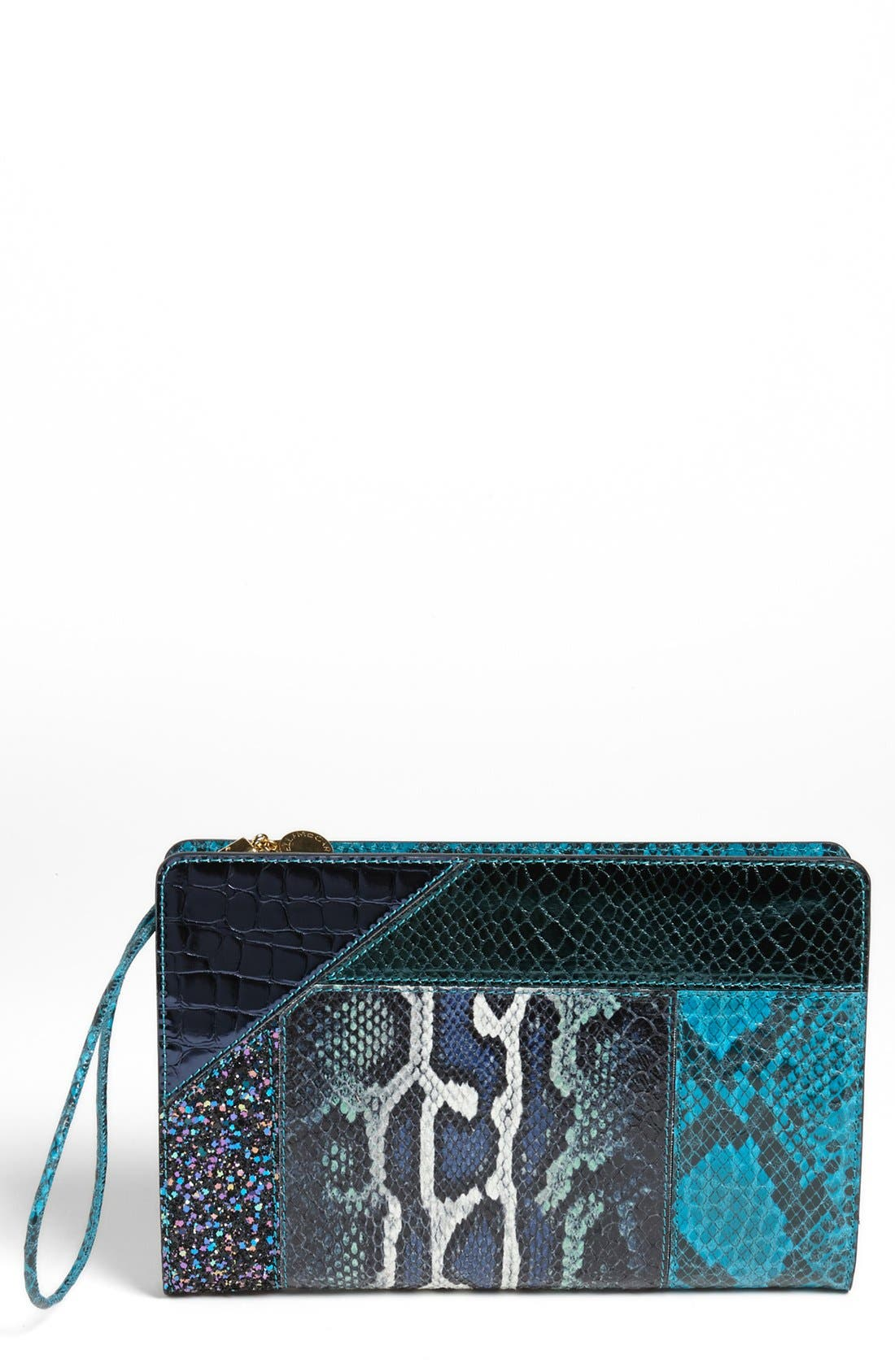Alternate Image 1 Selected - Stella McCartney 'Patchwork' Clutch