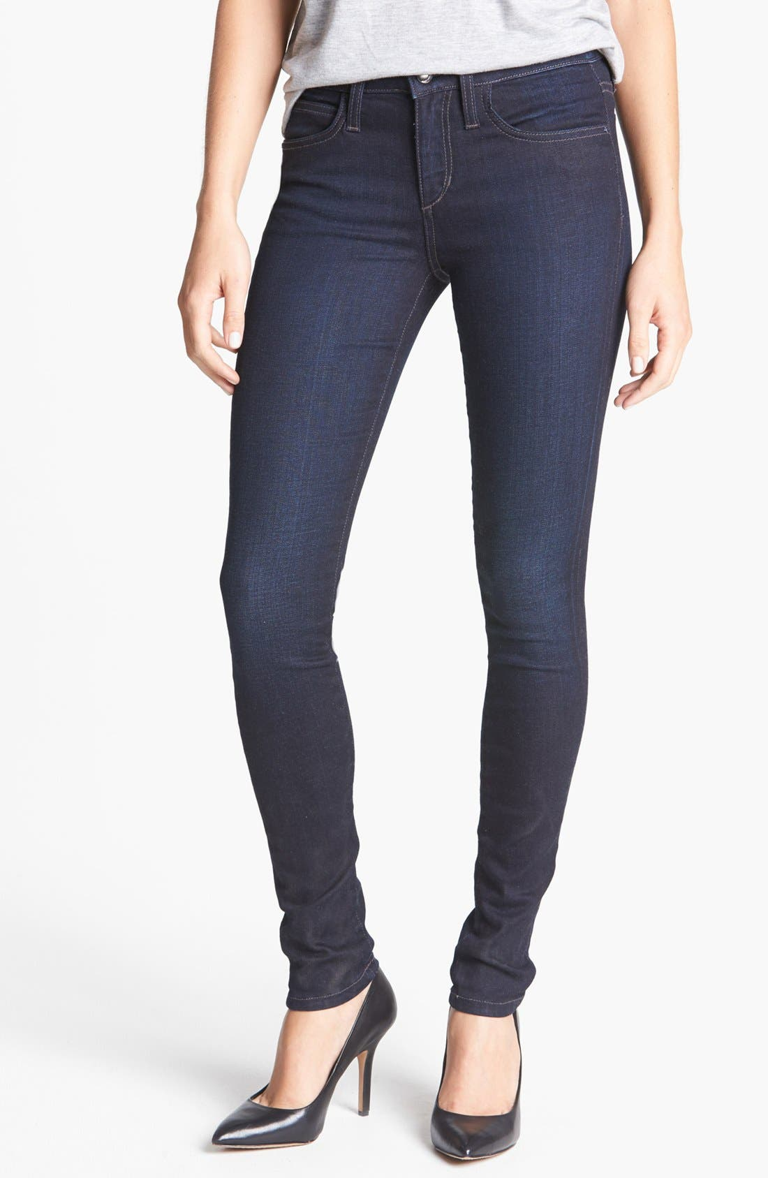 Alternate Image 1 Selected - Joe's 'The Skinny' Stretch Skinny Jeans (Auria)