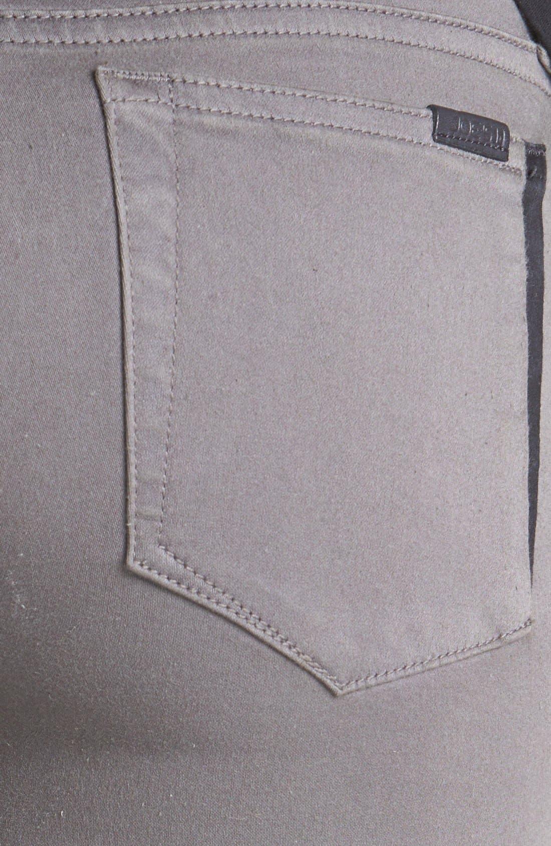 Alternate Image 3  - Joe's 'Oblique' Skinny Ankle Jeans (Charcoal)