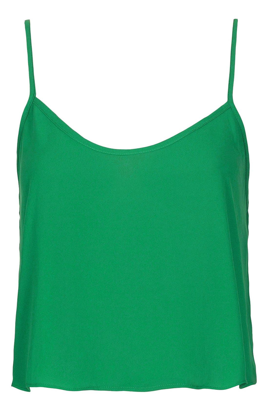 Alternate Image 1 Selected - Topshop 'Pasha' Crop Camisole