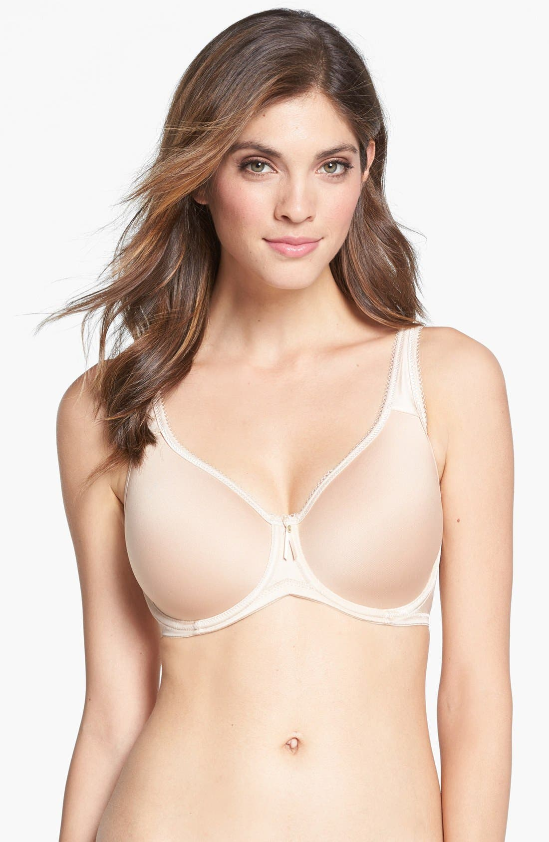 Alternate Image 1 Selected - Wacoal Basic Beauty Underwire Contour Bra