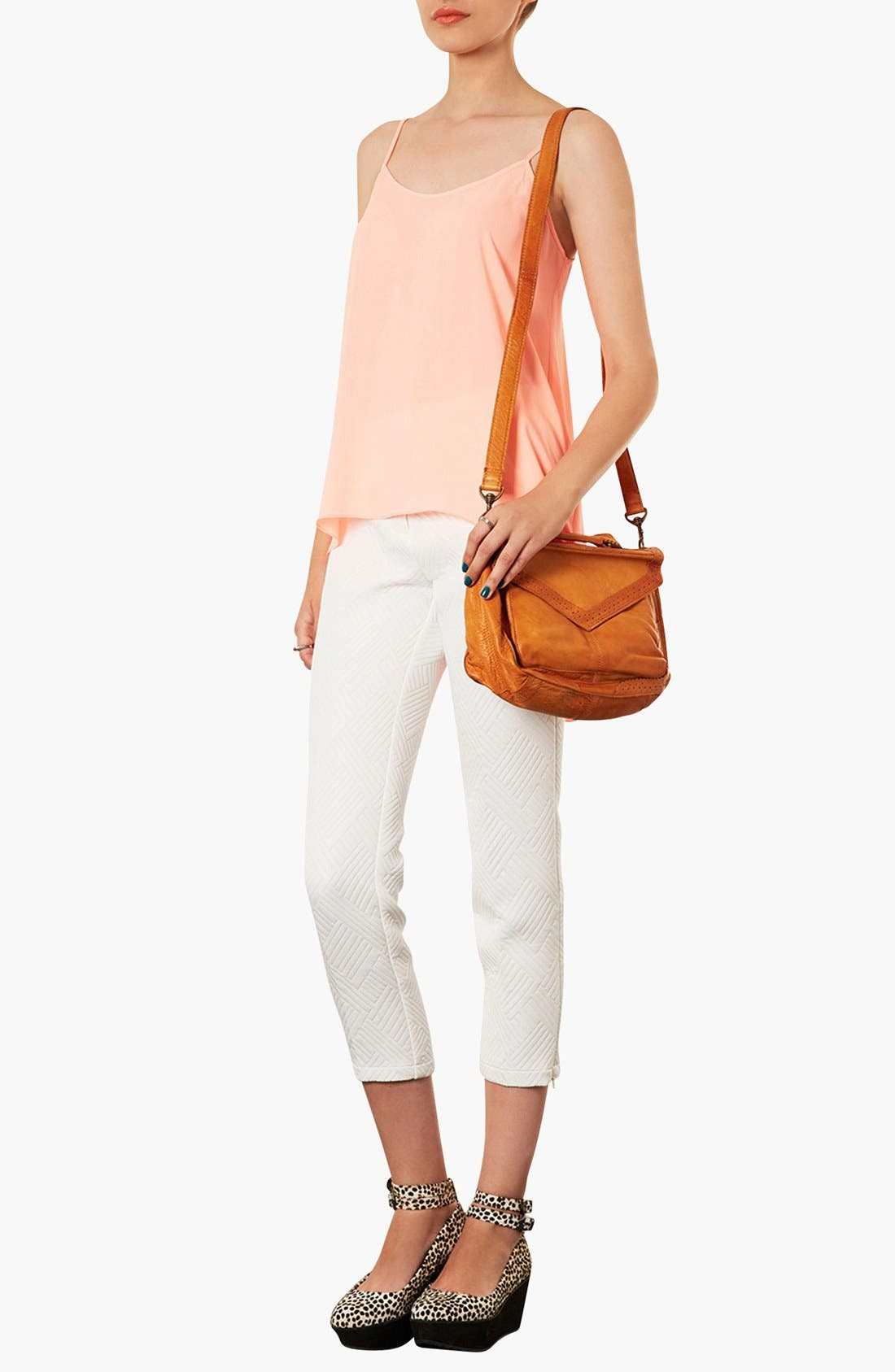 Alternate Image 2  - Topshop 'Brogue' Leather Satchel