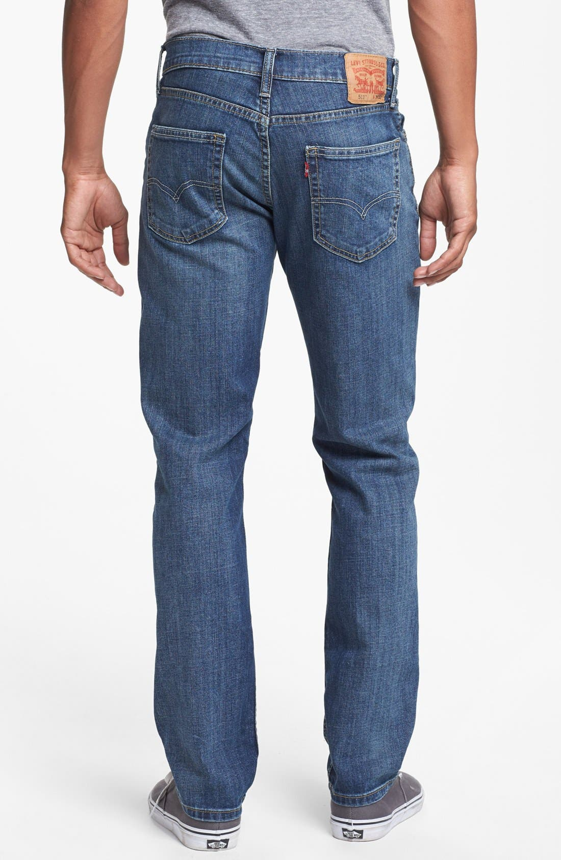 Alternate Image 2  - Levi's® '511™' Slim Fit Jeans (Dusky Blues)