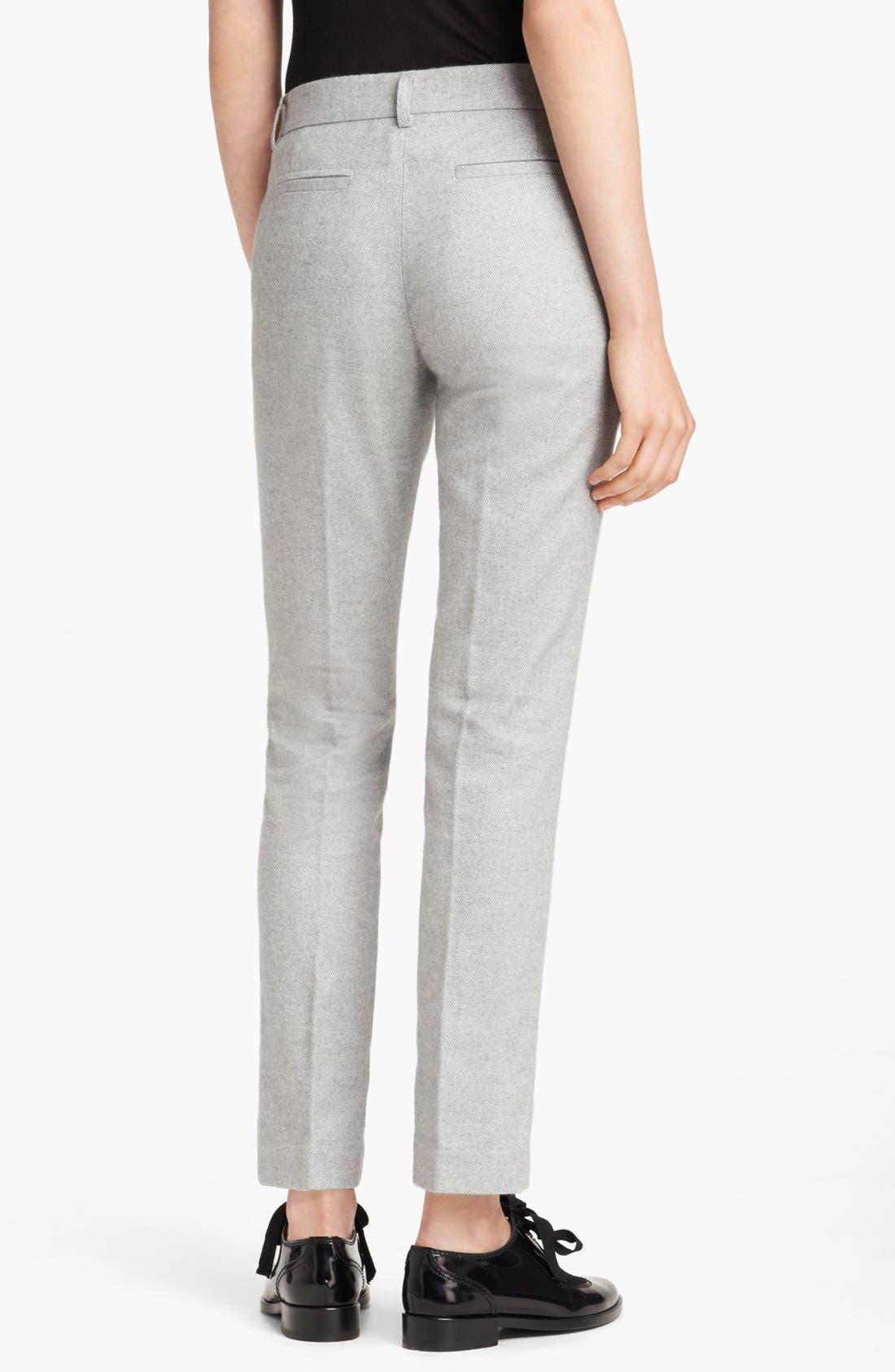 Alternate Image 2  - Band of Outsiders Slim Tweed Pants
