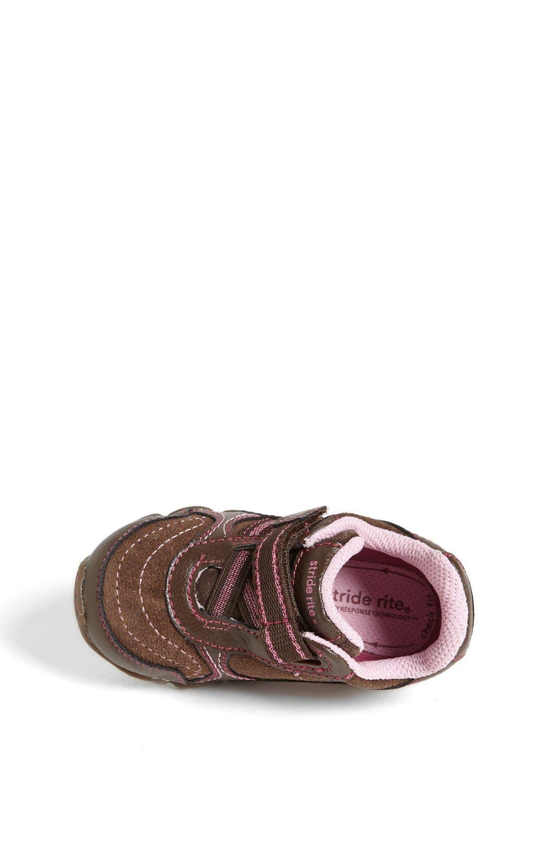 Alternate Image 4  - Stride Rite 'Lydia' Sneaker (Baby, Walker & Toddler)
