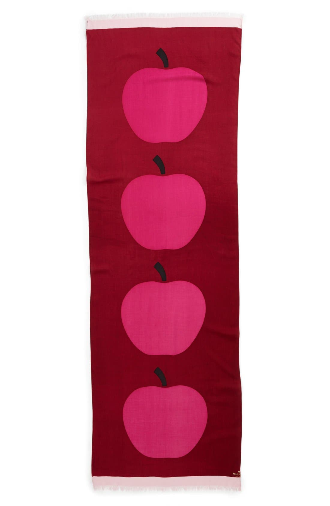 Alternate Image 2  - kate spade new york 'giant apple' scarf