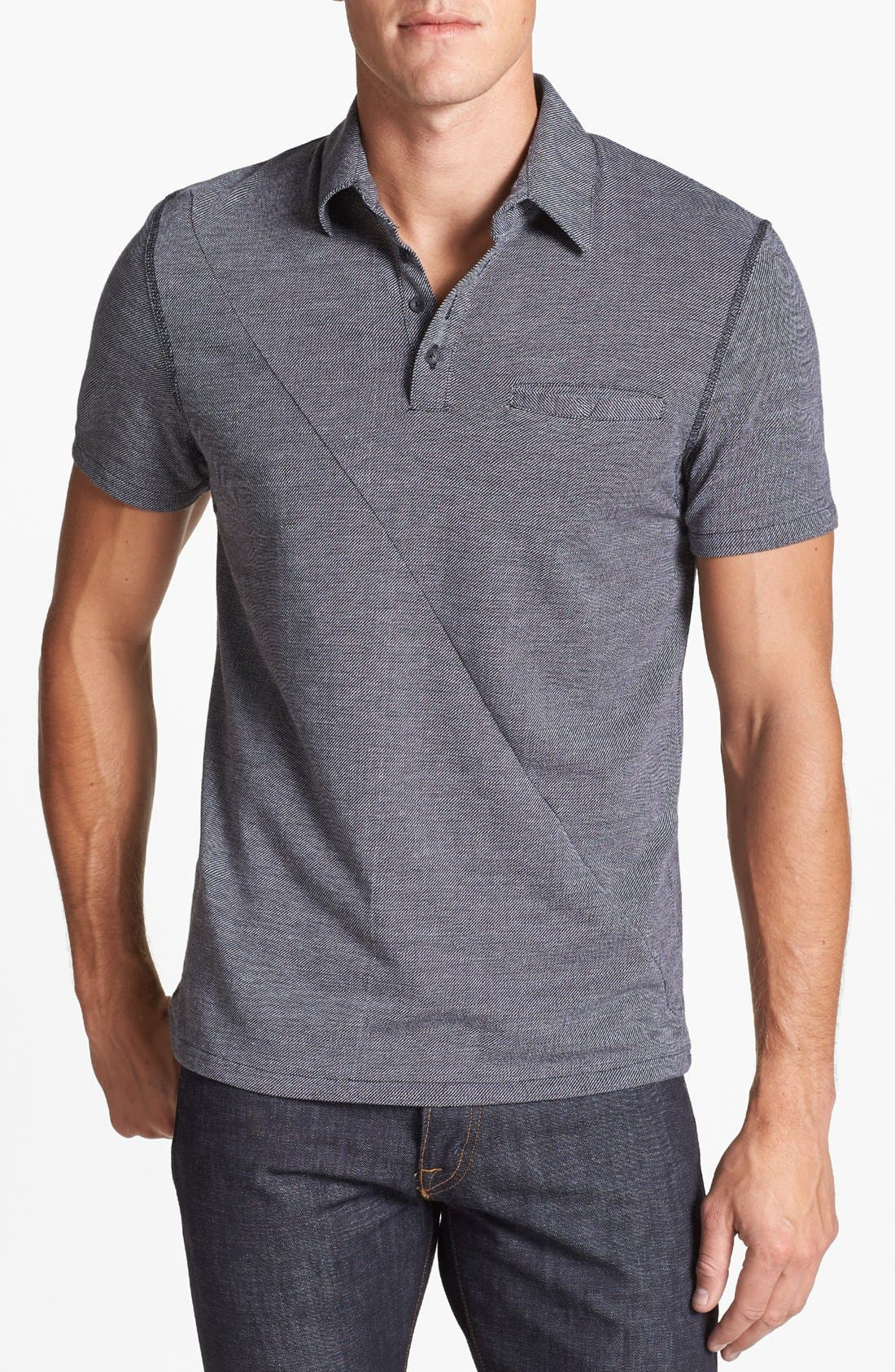 Alternate Image 1 Selected - Vince Camuto Slim Fit Knit Polo