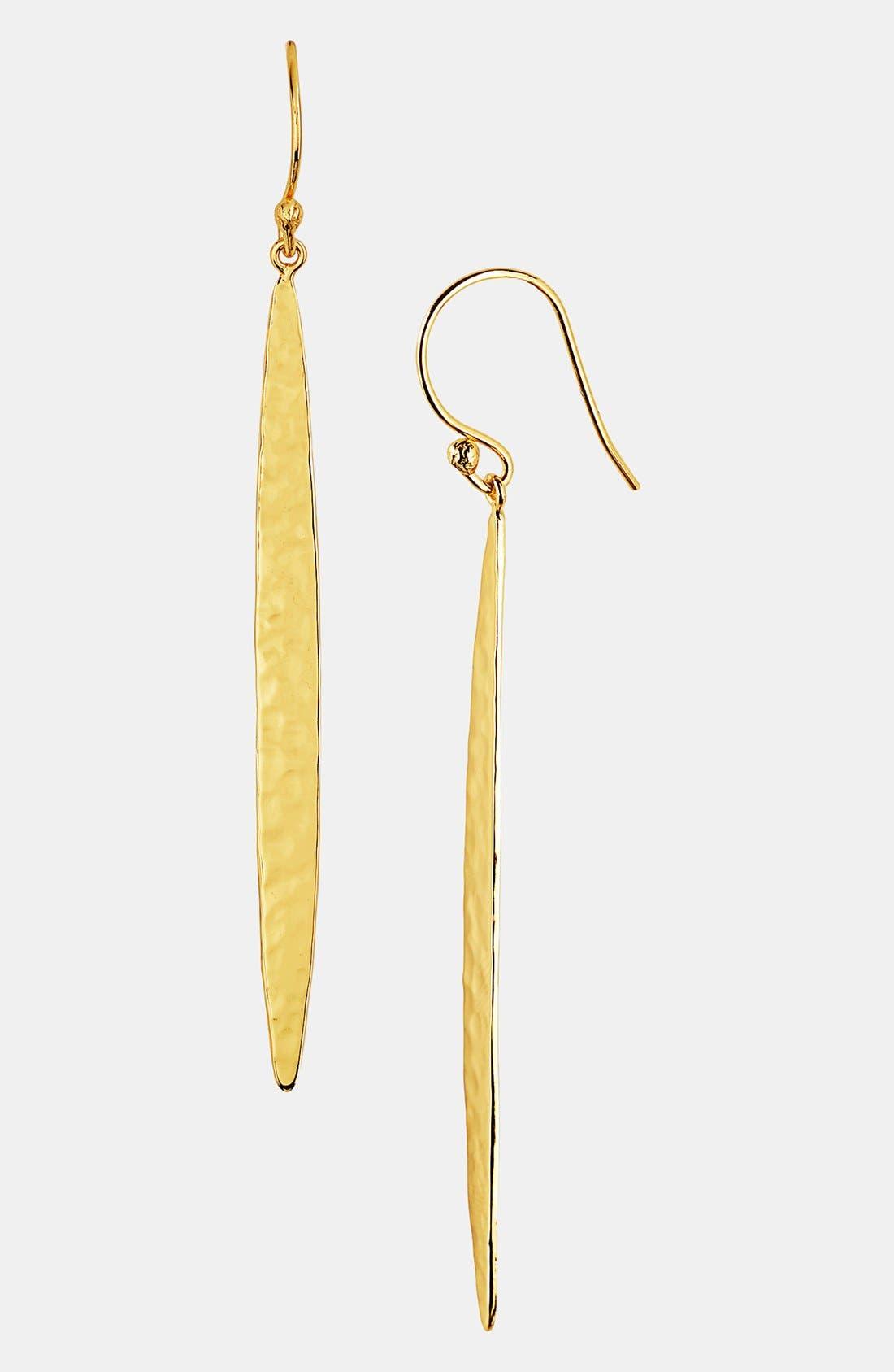 Alternate Image 1 Selected - Argento Vivo 'Sunray' Spear Earrings