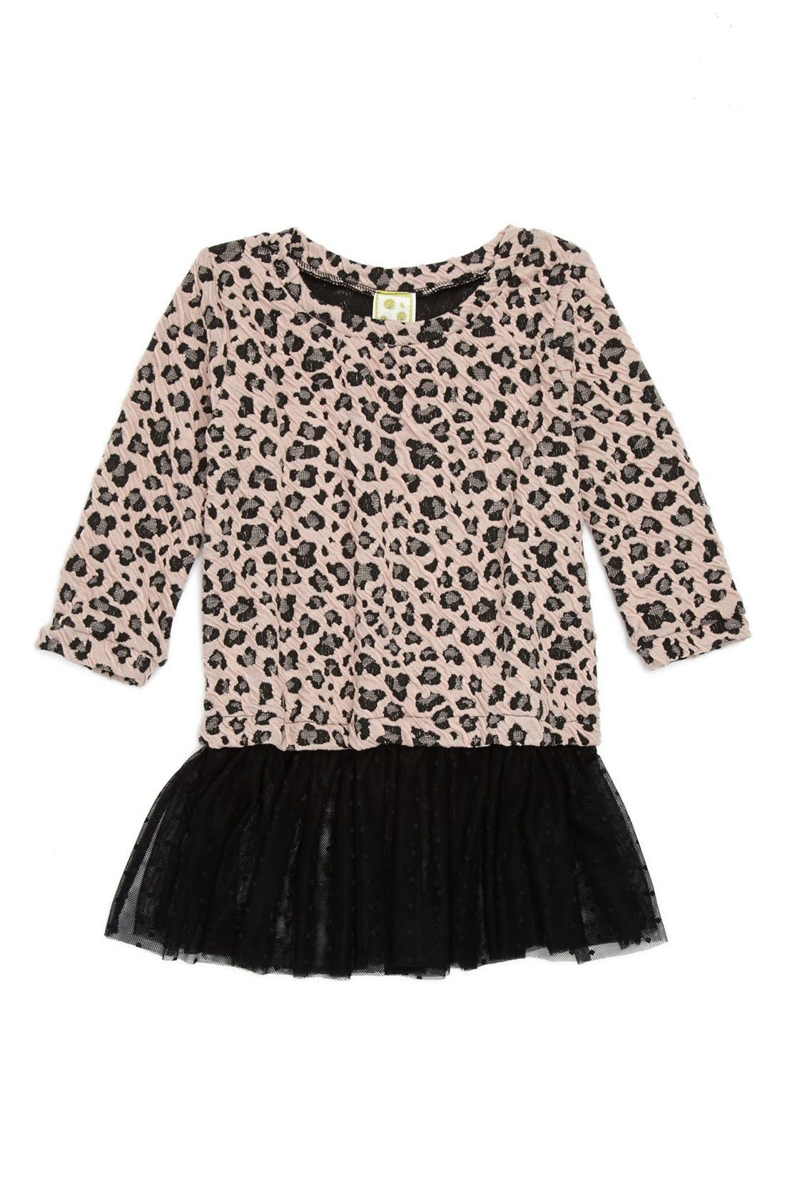 Alternate Image 1 Selected - Kiddo Ruffle Hem Top (Little Girls)
