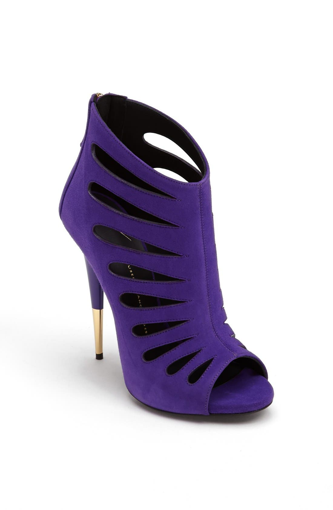 Alternate Image 1 Selected - Giuseppe Zanotti Cutout Bootie
