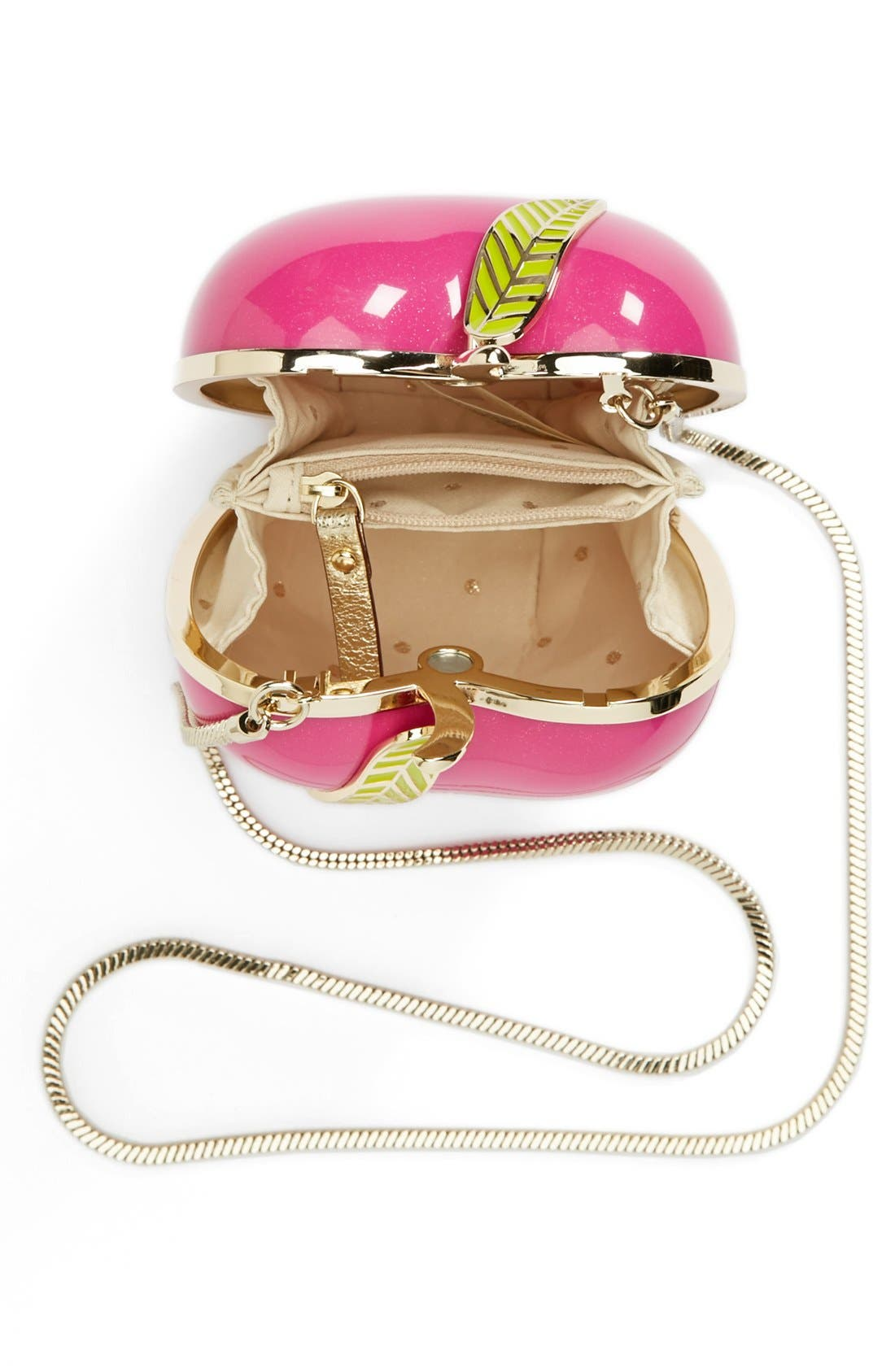 Alternate Image 3  - kate spade new york 'far from the tree - apple' clutch