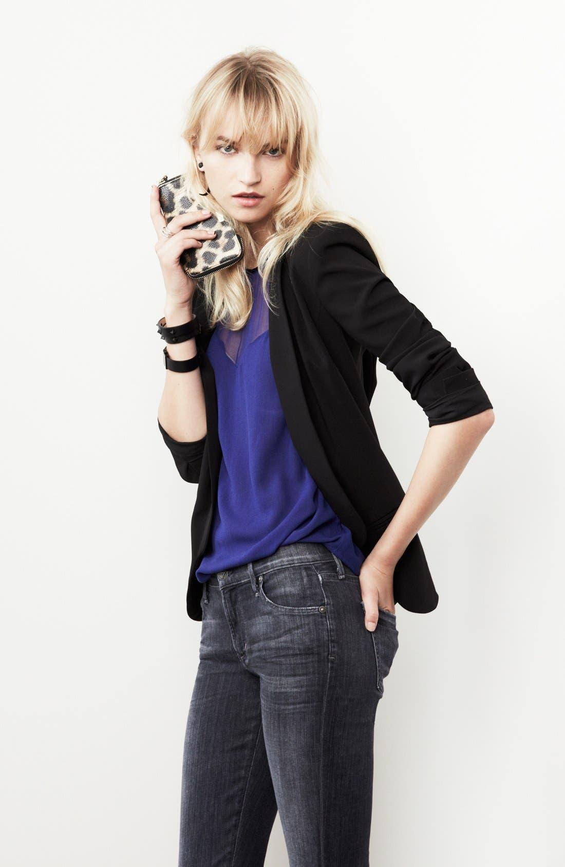 Alternate Image 6  - Trouvé Three Pocket Blazer