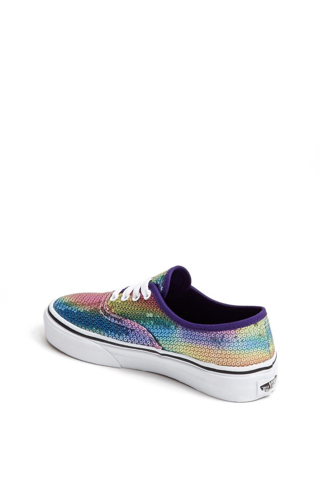 Alternate Image 2  - Vans 'Classic - Rainbow Sequin' Sneaker (Toddler, Little Kid & Big Kid)