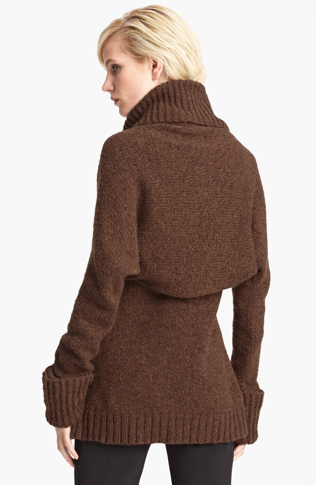 Alternate Image 2  - Donna Karan Collection Cashmere Shrug