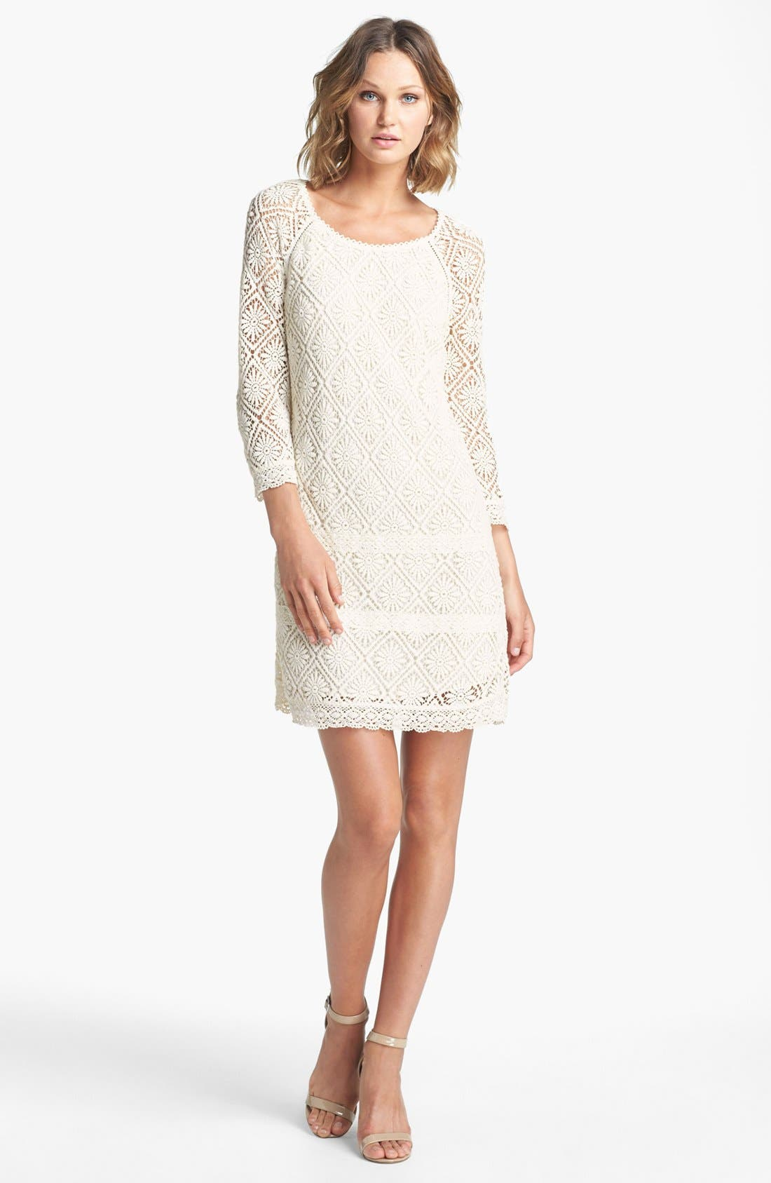 Alternate Image 1 Selected - Juicy Couture 'Grace' Lace Dress
