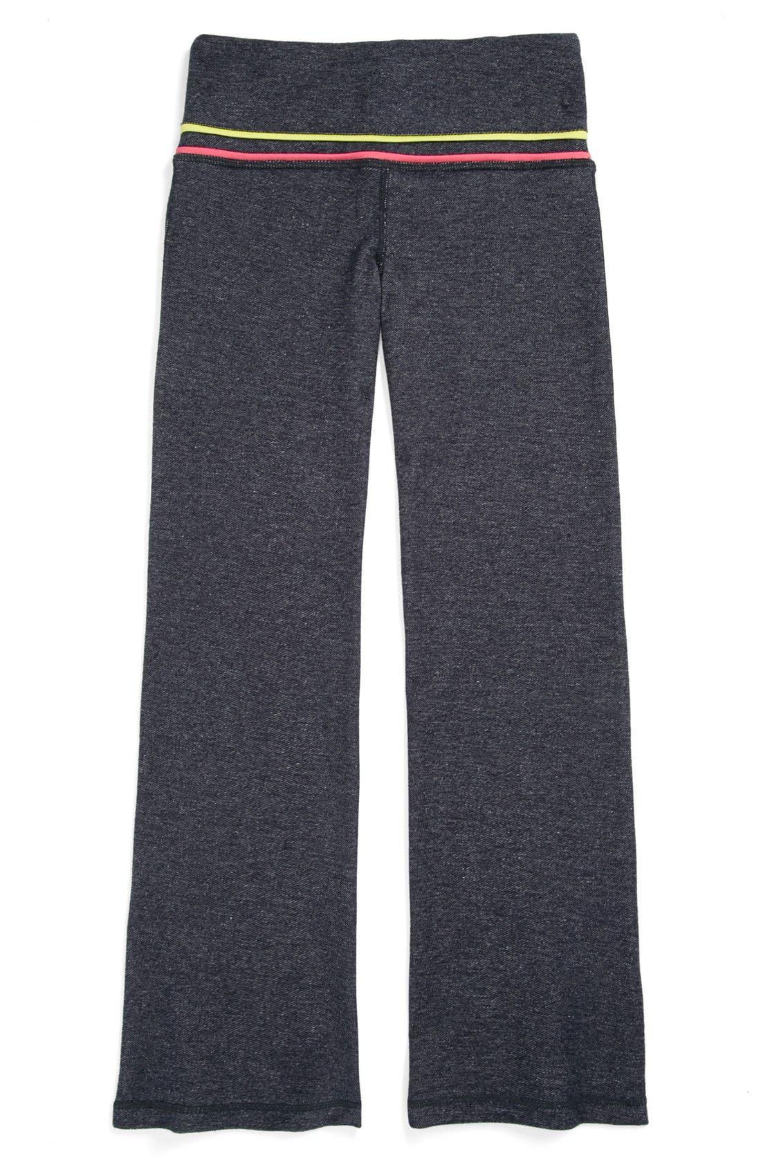 Alternate Image 1 Selected - Limeapple 'Asana' Pants (Big Girls)