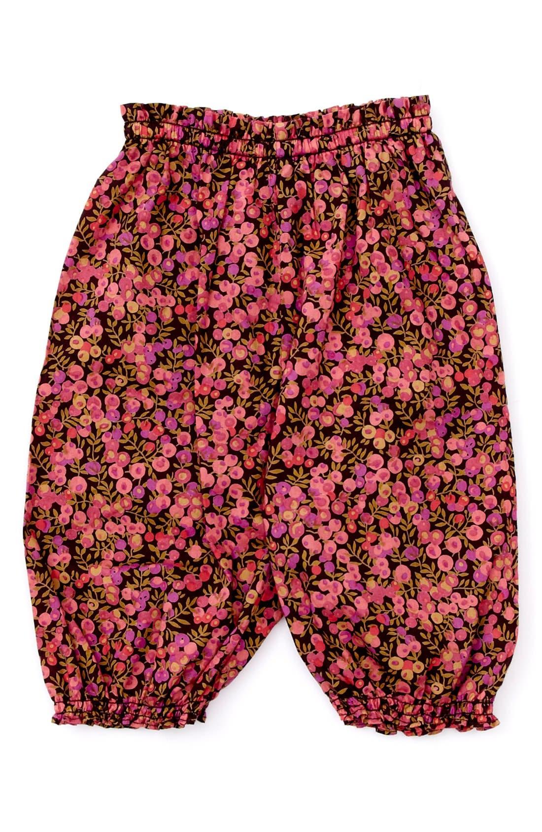 Alternate Image 1 Selected - Peek Long Bloomers (Baby Girls)