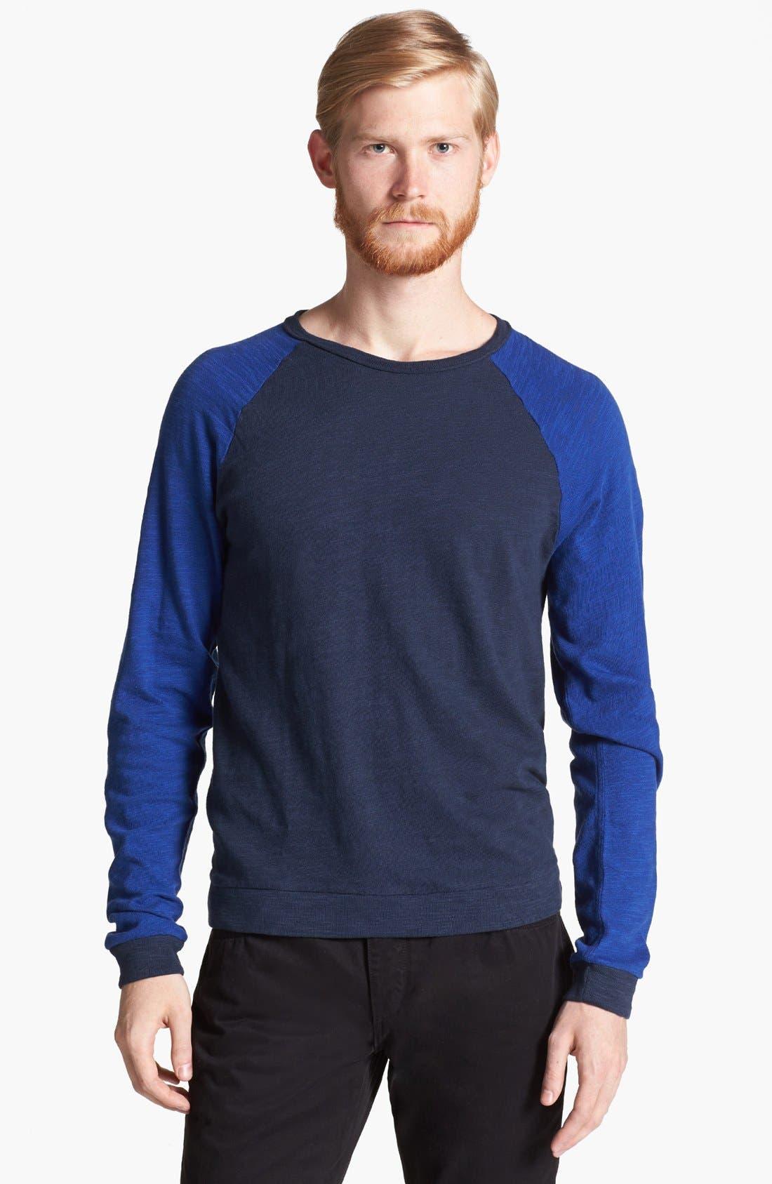 Alternate Image 1 Selected - rag & bone Lightweight Crewneck Sweatshirt