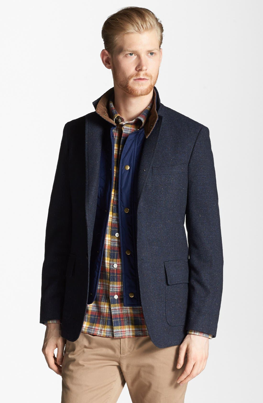 Alternate Image 1 Selected - Jack Spade 'Burton' Blazer